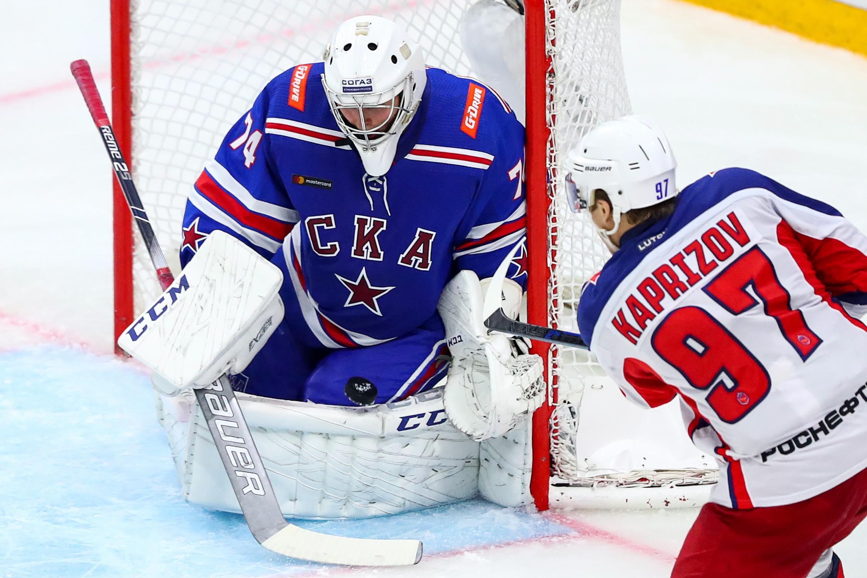 Kontinental Hockey League: SKA St Petersburg 0 - 3 CSKA Moscow