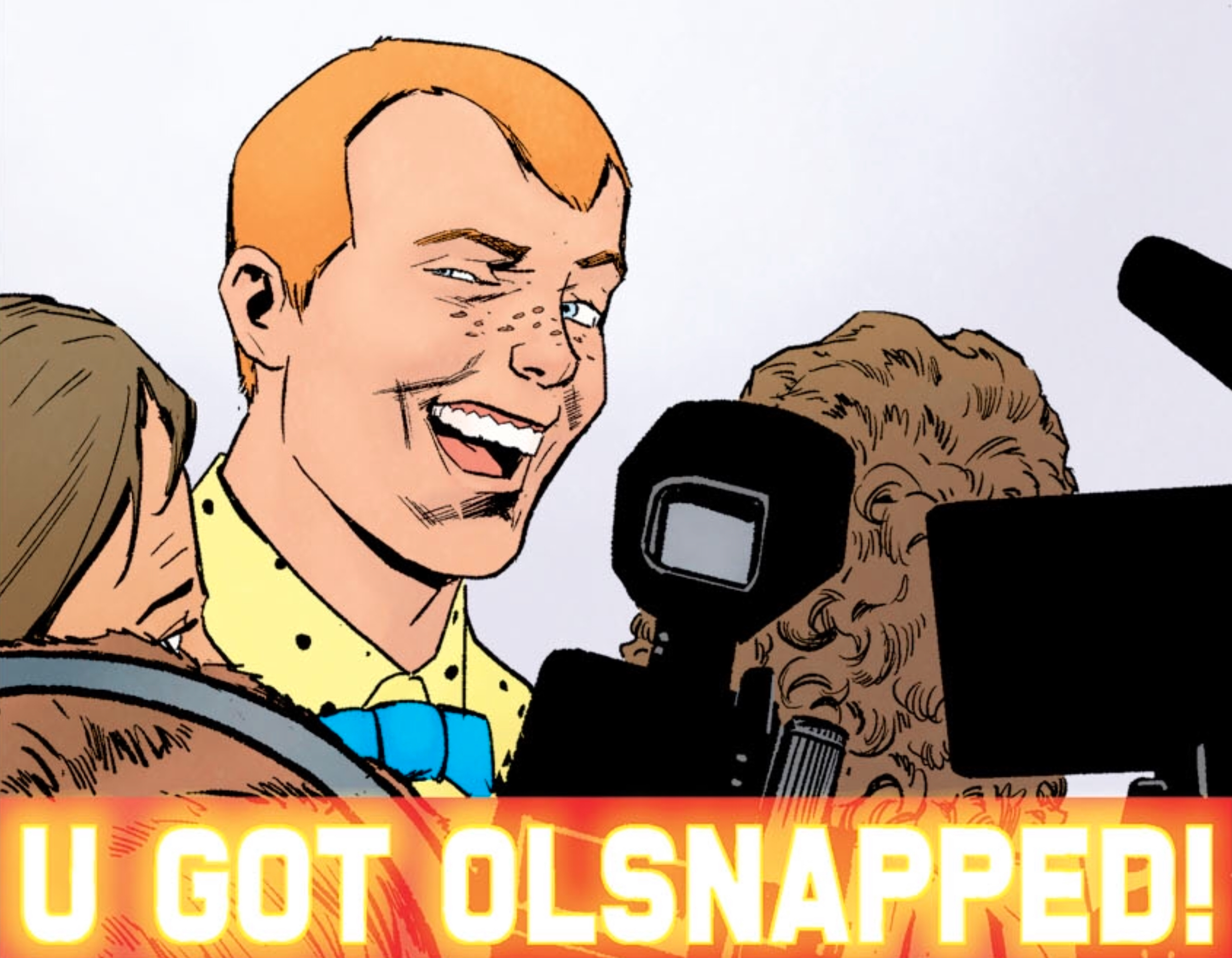 Jimmy Olsen is now the Jake Paul of Gotham City, so Batman punched him