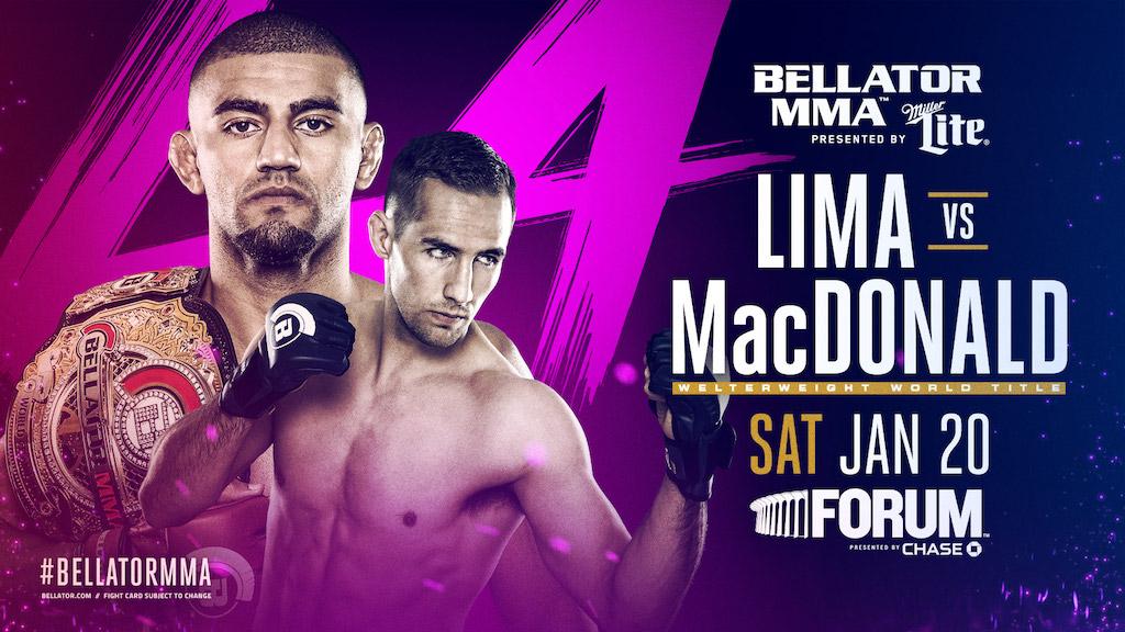 Bellator 'Lima vs MacDonald'
