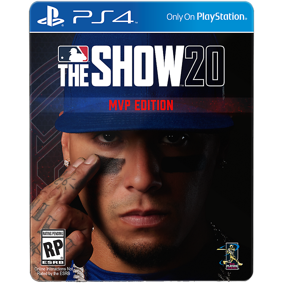 Cubs shortstop Javier Baez is shown on a special edition of the MLB The Show 20 videogame.