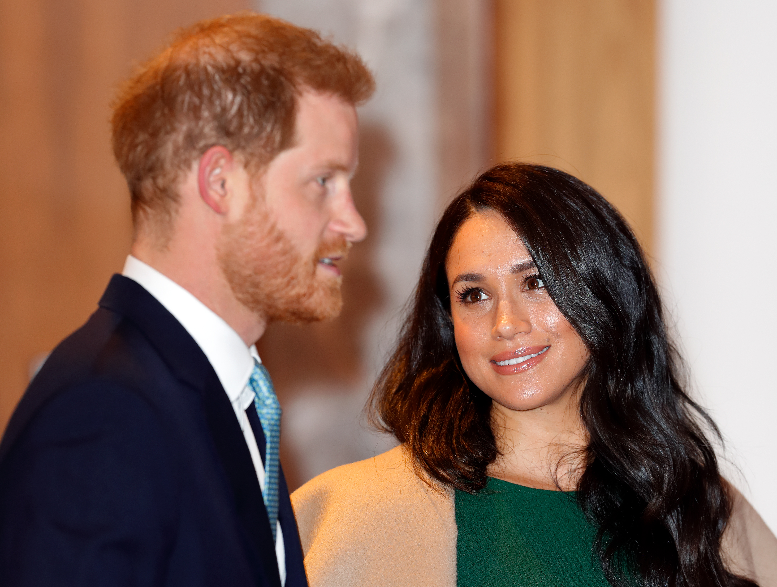 Meghan and Harry at the WellChild awards
