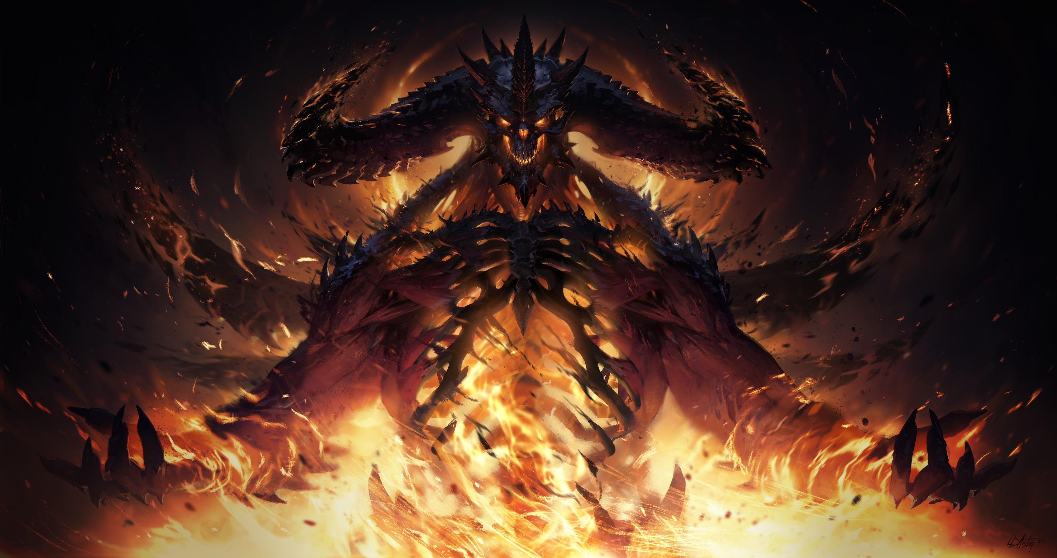 Diablo 4 outed in ad for Diablo art book