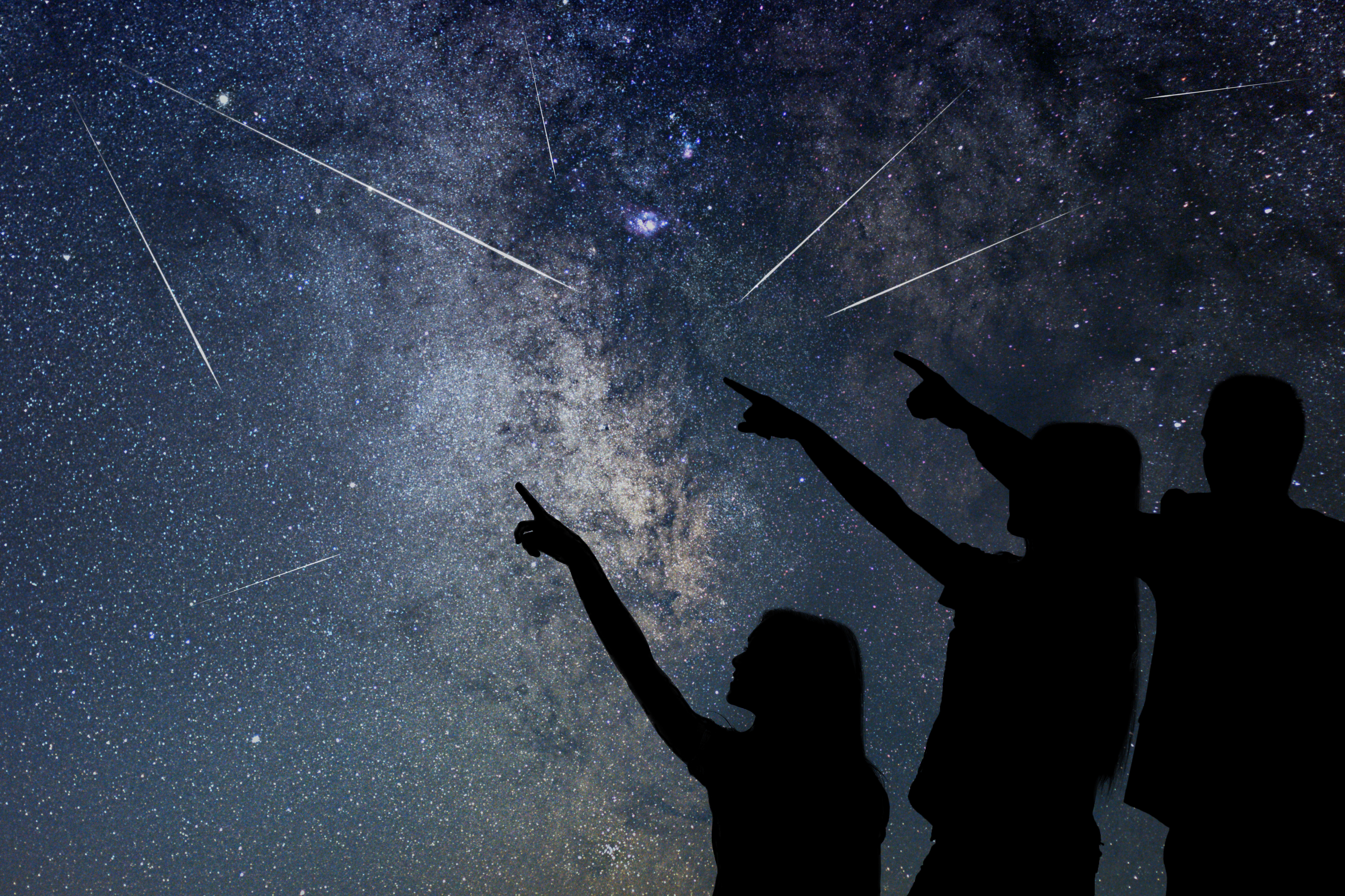 FILE - Snowbasin Resort will host a night of stargazing during the annual Perseid meteor shower on Friday, Aug. 10.