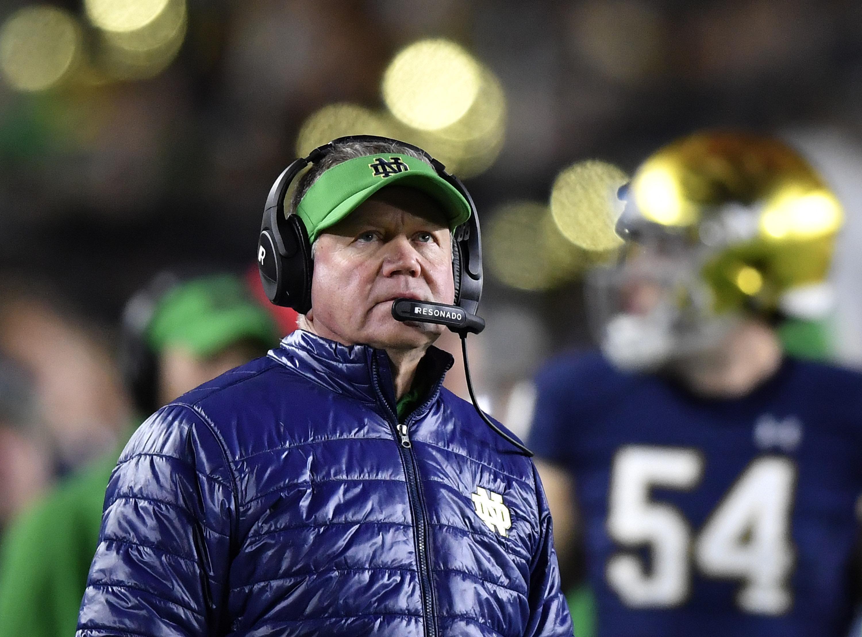 NCAA Football: Southern California at Notre Dame
