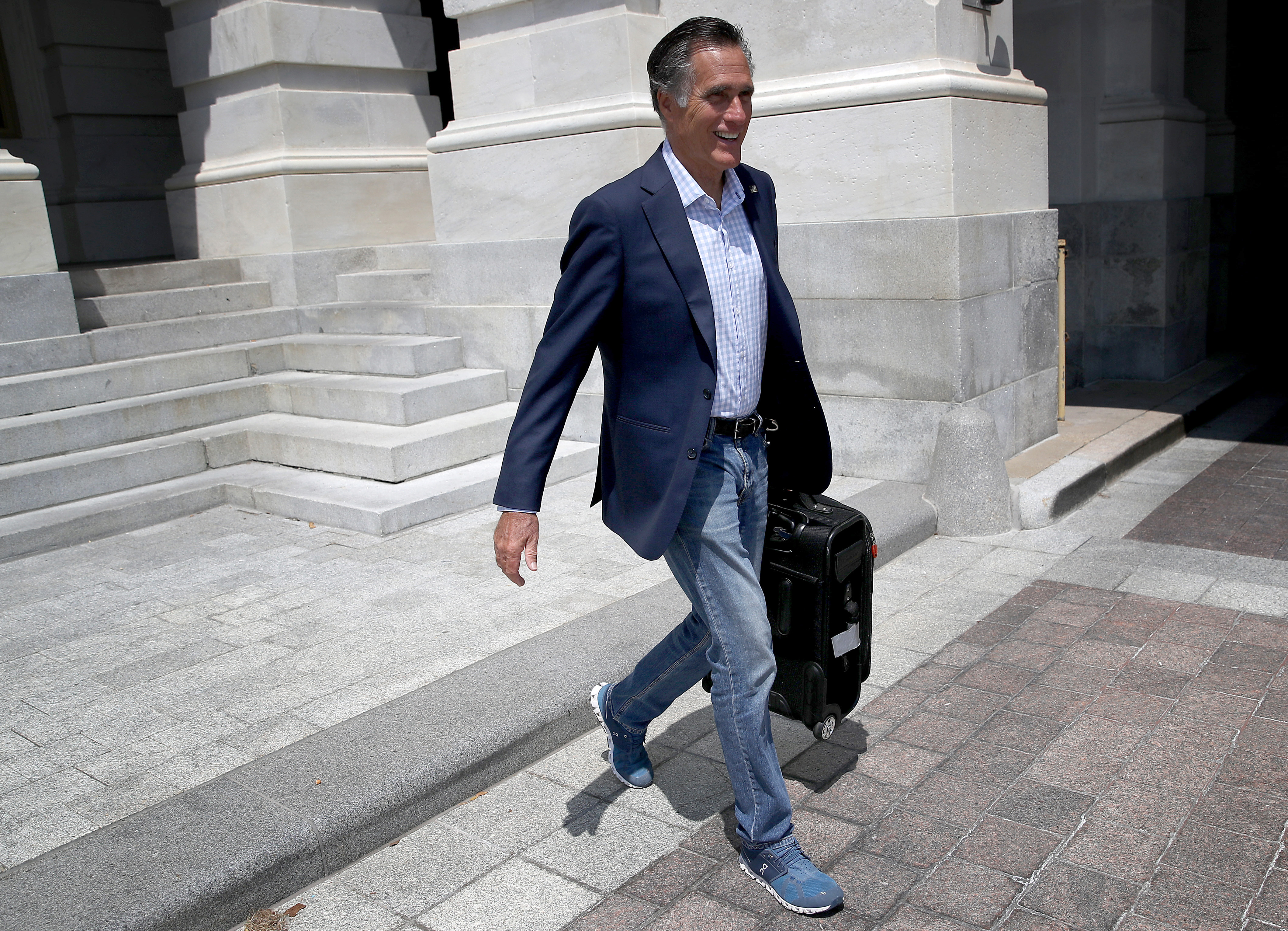 "Mitt Romney has a secret Twitter account named ""Pierre Delecto"""