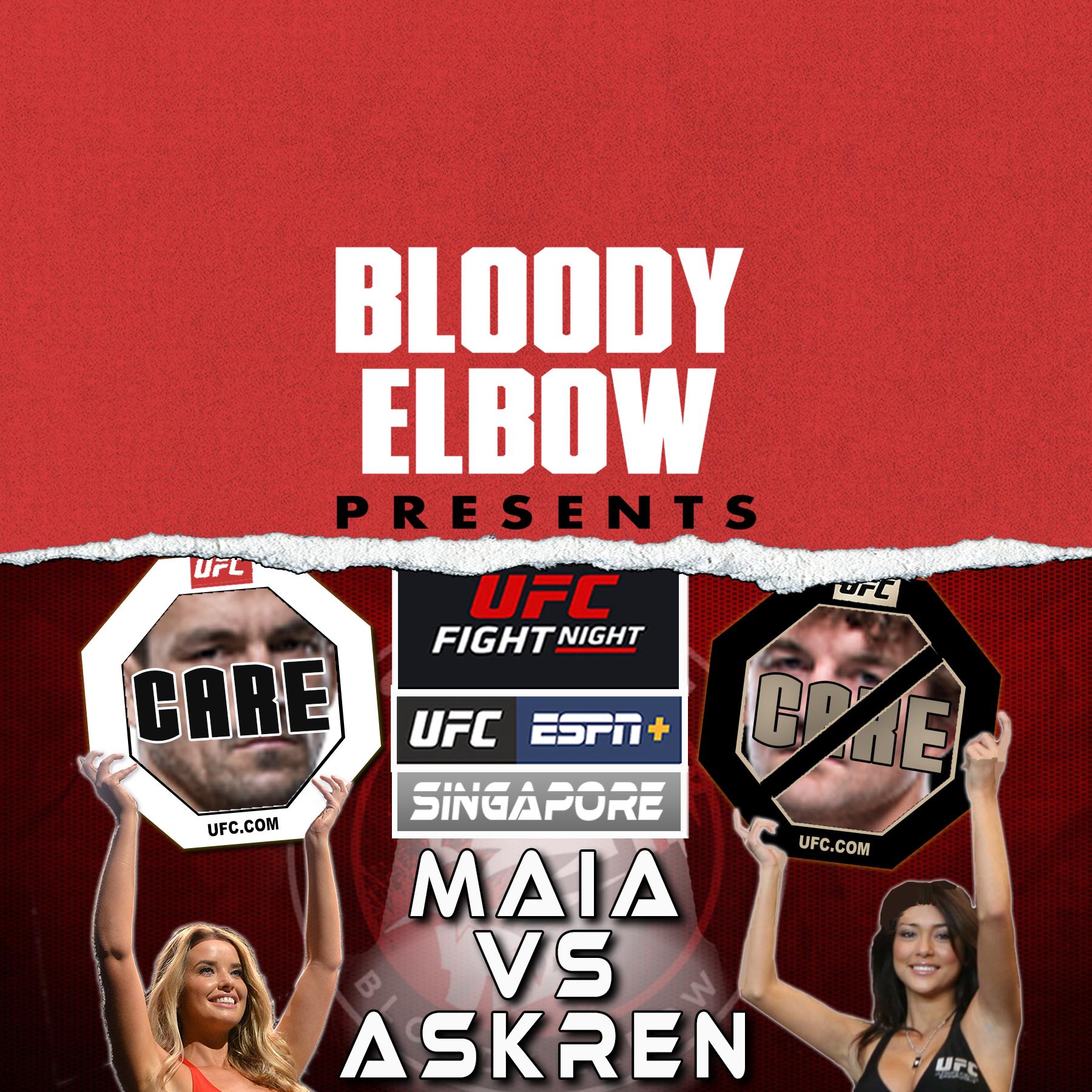 CDC, Care/Don't Care, UFC Boston Review, UFC Singapore Preview, UFC Picks, UFC Results