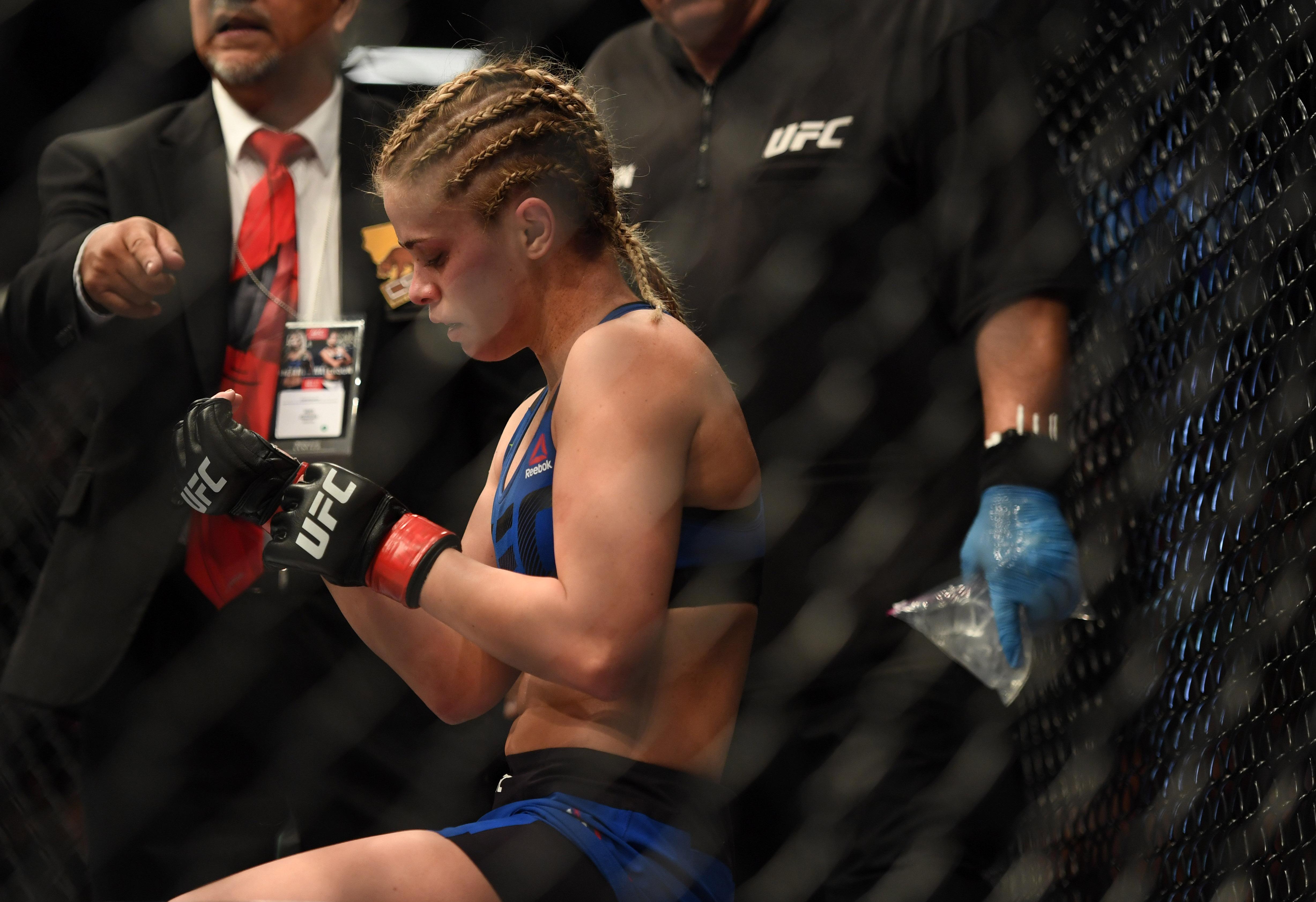 MMA: UFC Fight Night-VanZant vs Waterson