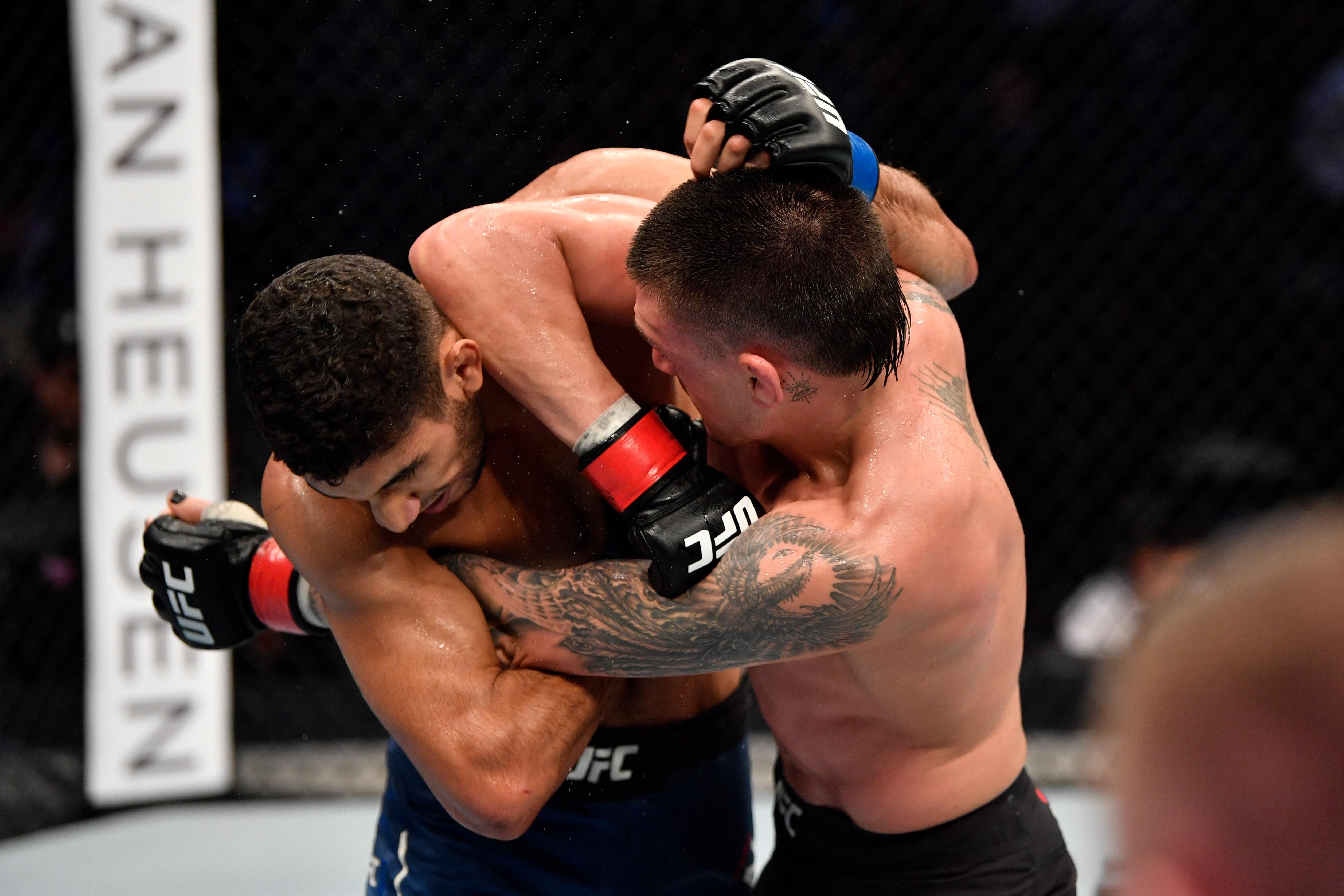 UFC 242: Madge v Ziam