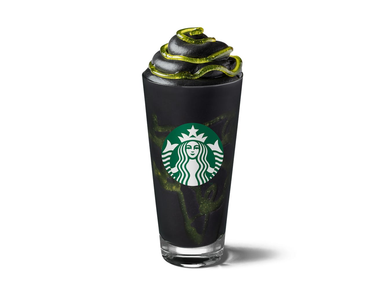 Starbucks's Black 'Phantom Frappuccino' Looks Like a Drinkable Goosebumps Cover