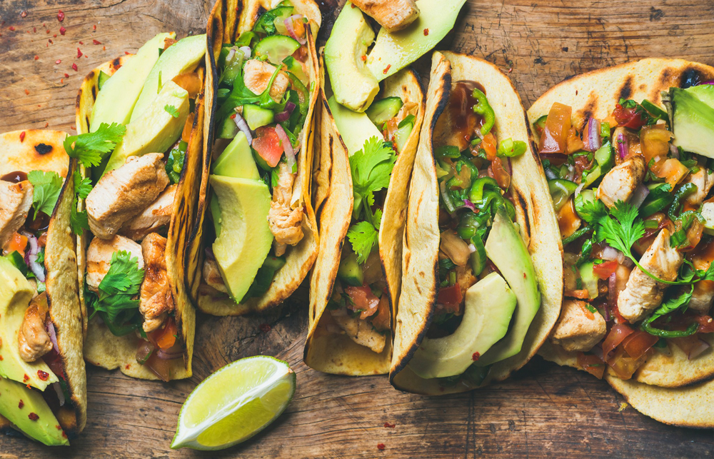 Street tacos similar to the dishes planned for Más Por Favor Taqueria y Tequila, headed to Chinatown next year.