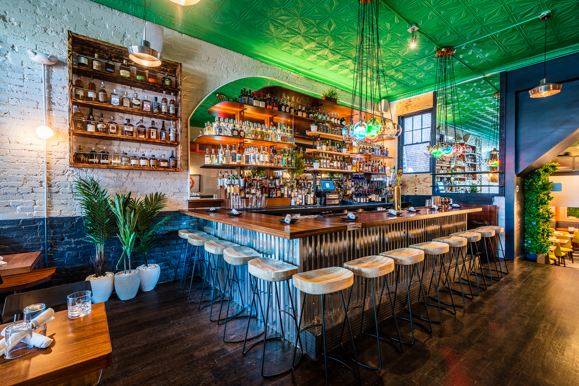 NYC's Mexicue Opens a Plant-Filled D.C. Restaurant Selling Southern-Inflected Tacos