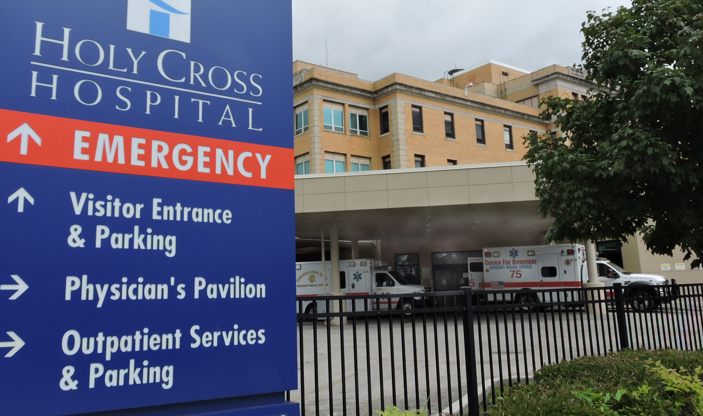 Sinai Health System will scale back services at Holy Cross Hospital in November.