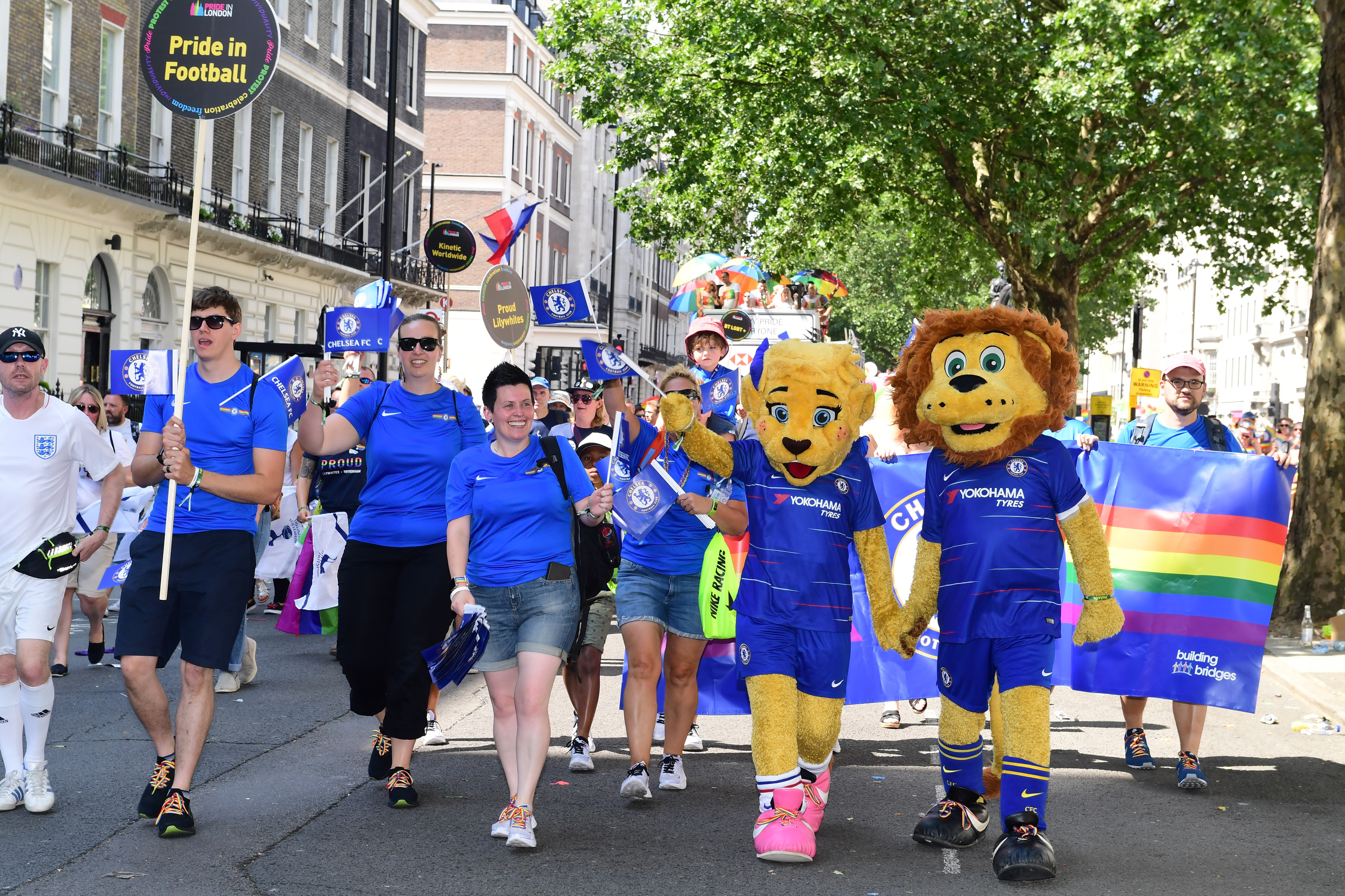 Chelsea Foundation - Pride In London 2018