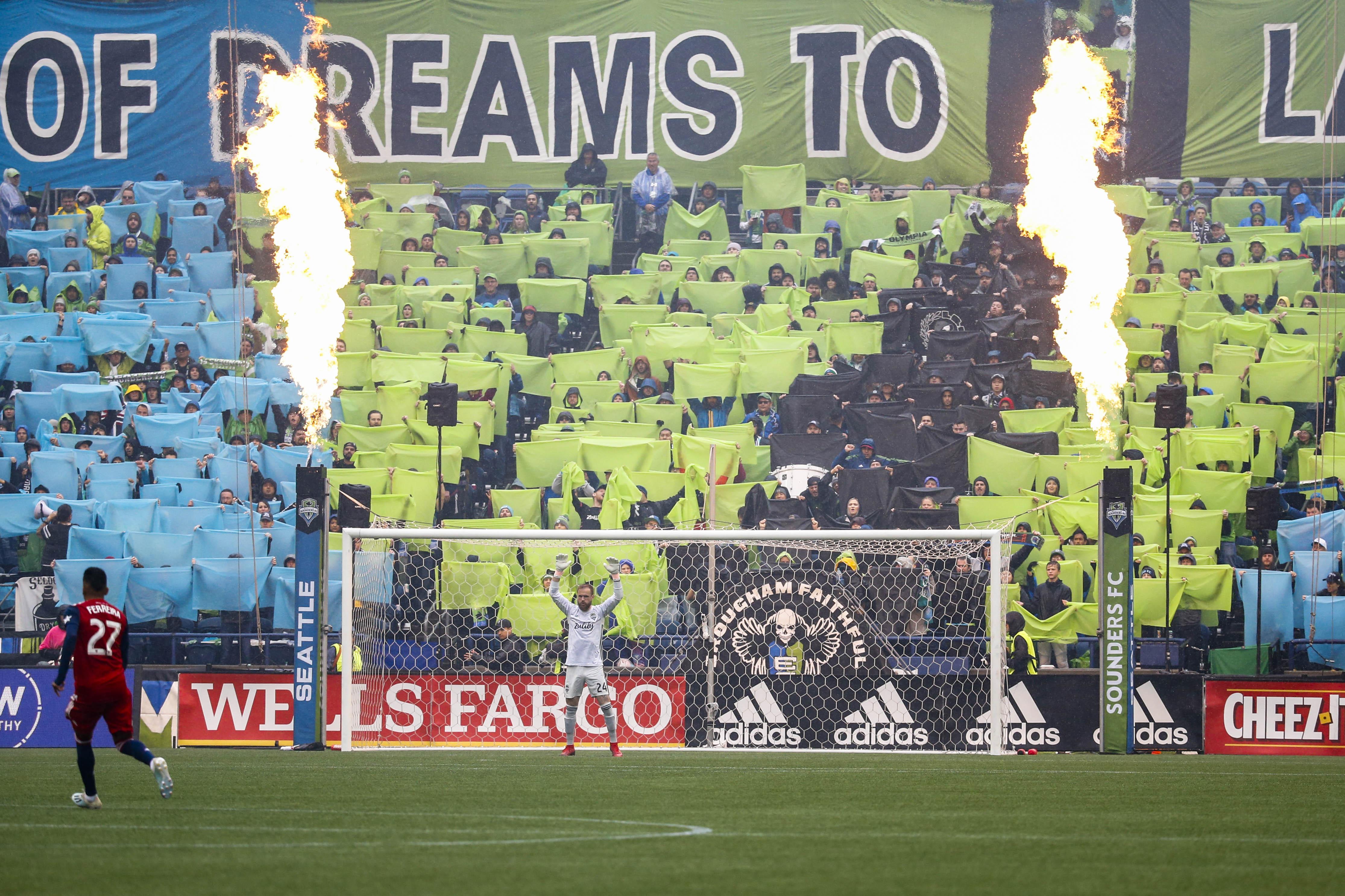 MLS:MLS Cup季后赛 - 西雅图探测器FC的圆形达拉斯