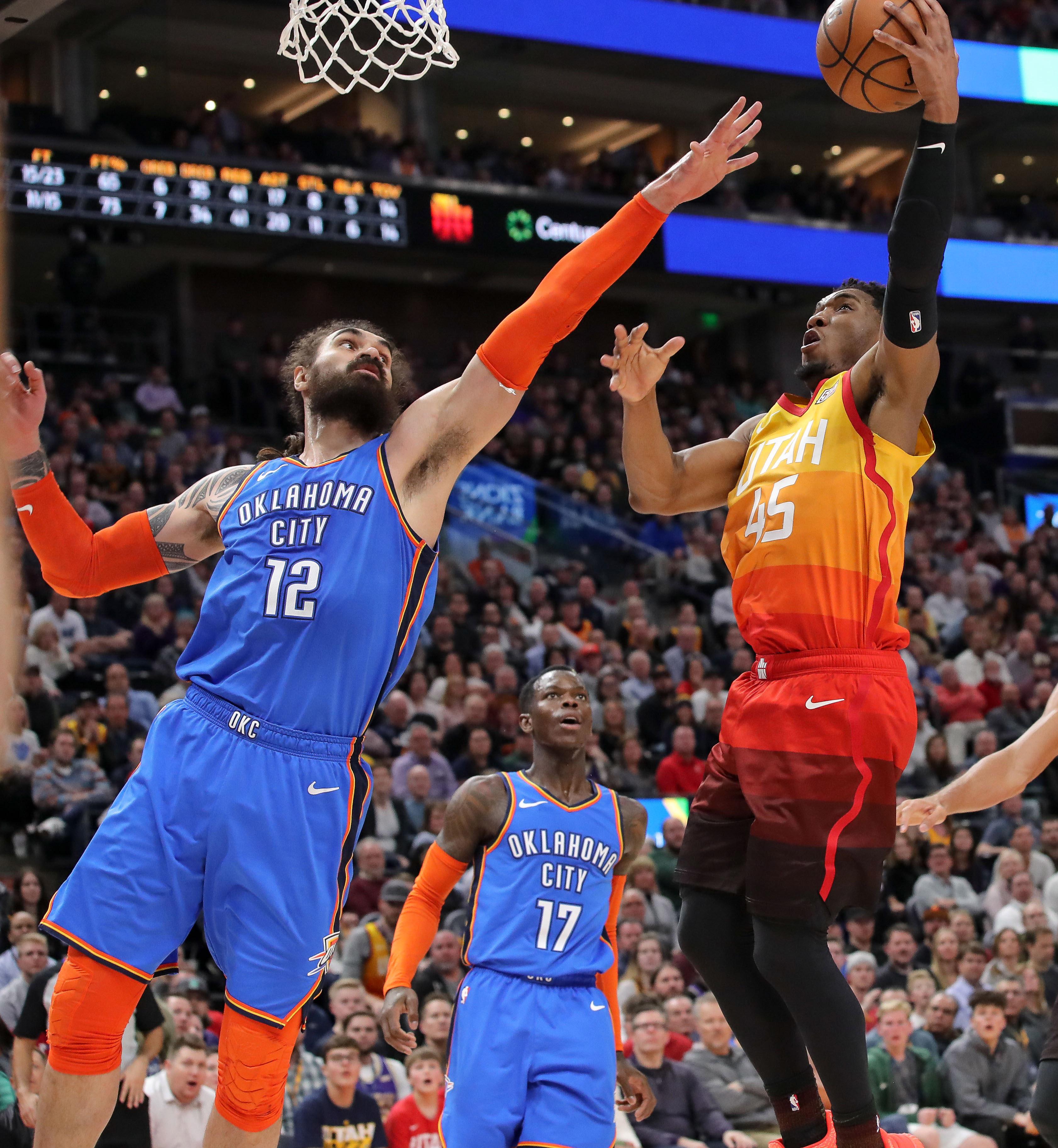 NBA: Oklahoma City Thunder at Utah Jazz