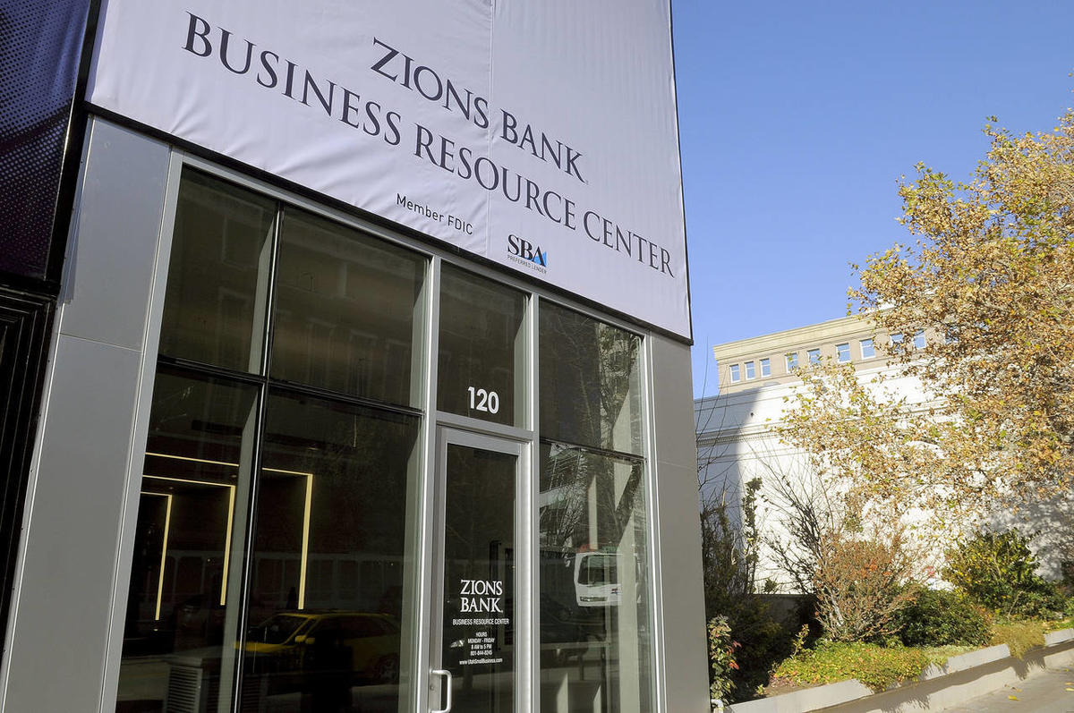 Zions Bank released the results of its November Utah Consumer Attitude Index during a press conference at the Zions Bank Business Resource Center on Tuesday, Nov. 26, 2013.