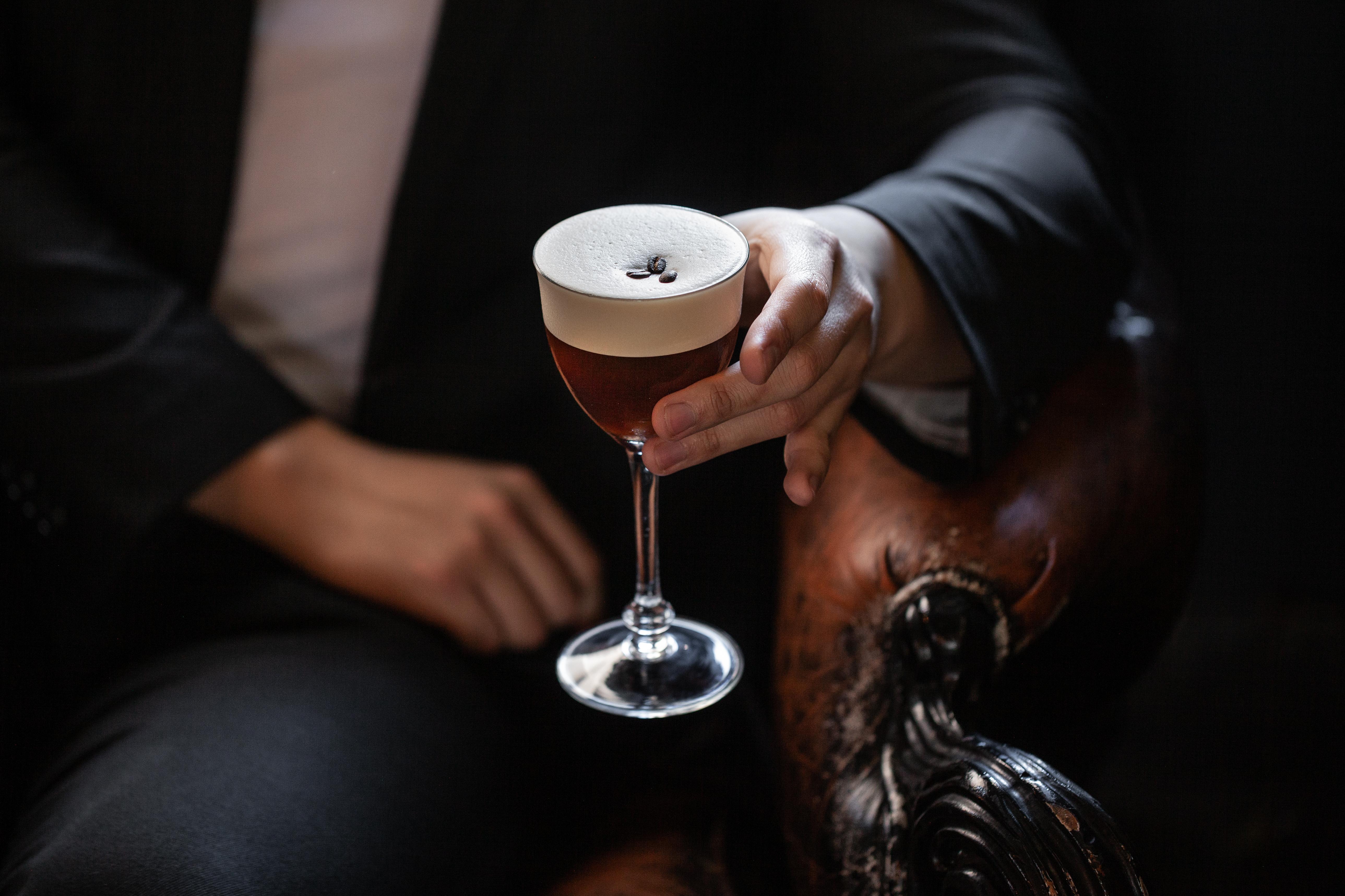 A beautiful espresso martini