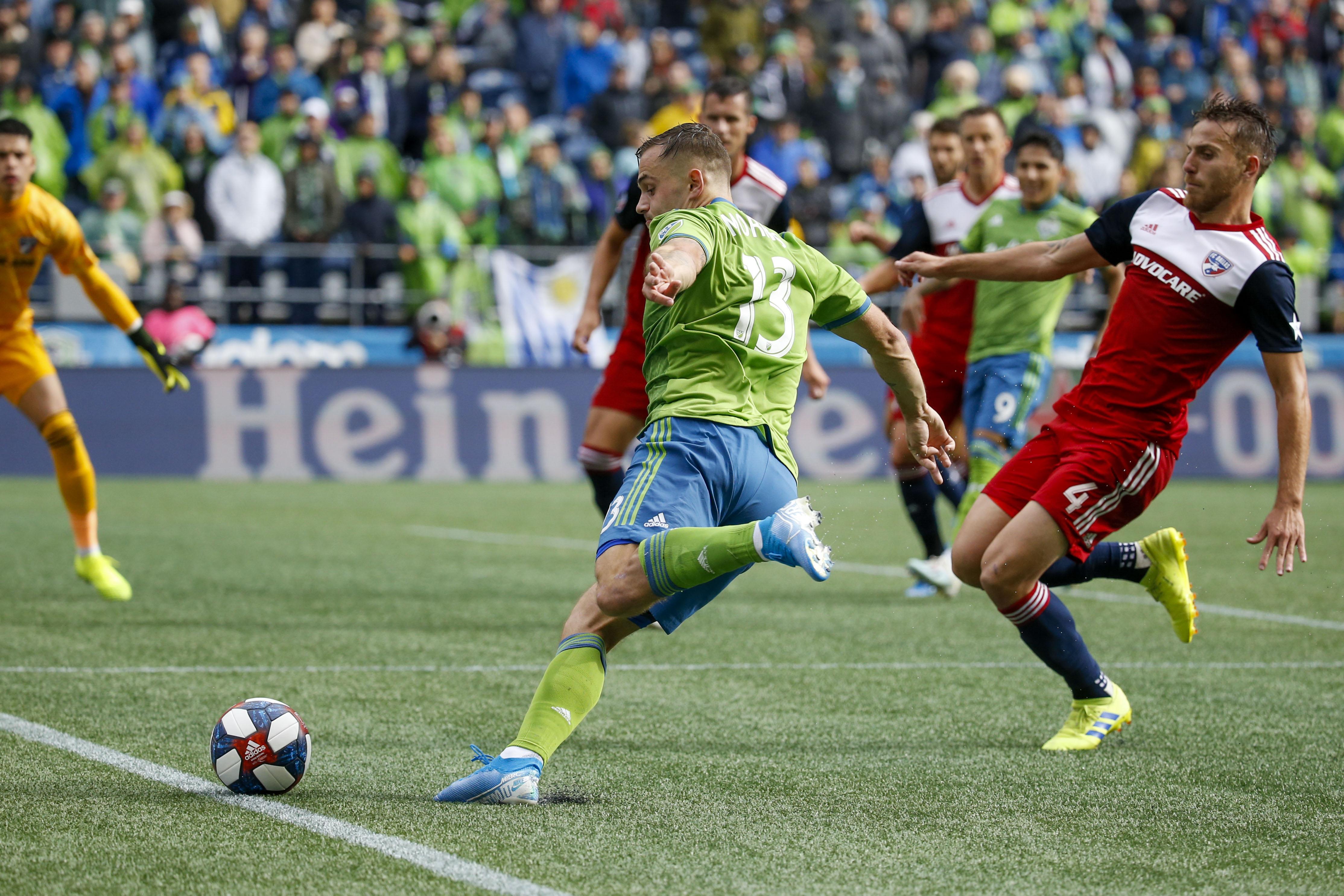 MLS:联盟杯淘汰赛,第一回合-FC达拉斯在西雅图海湾FC