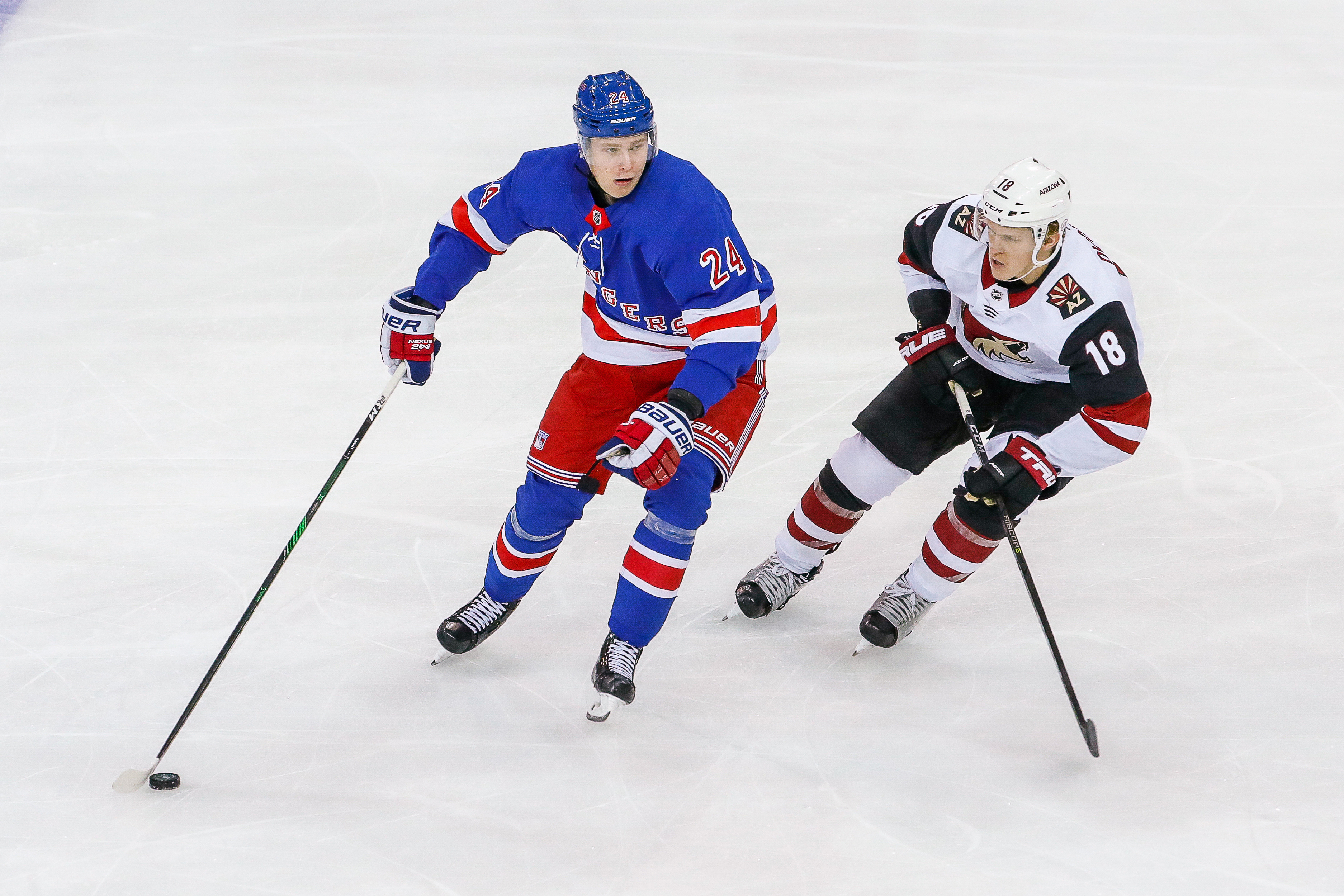 NHL: OCT 22 Coyotes at Rangers