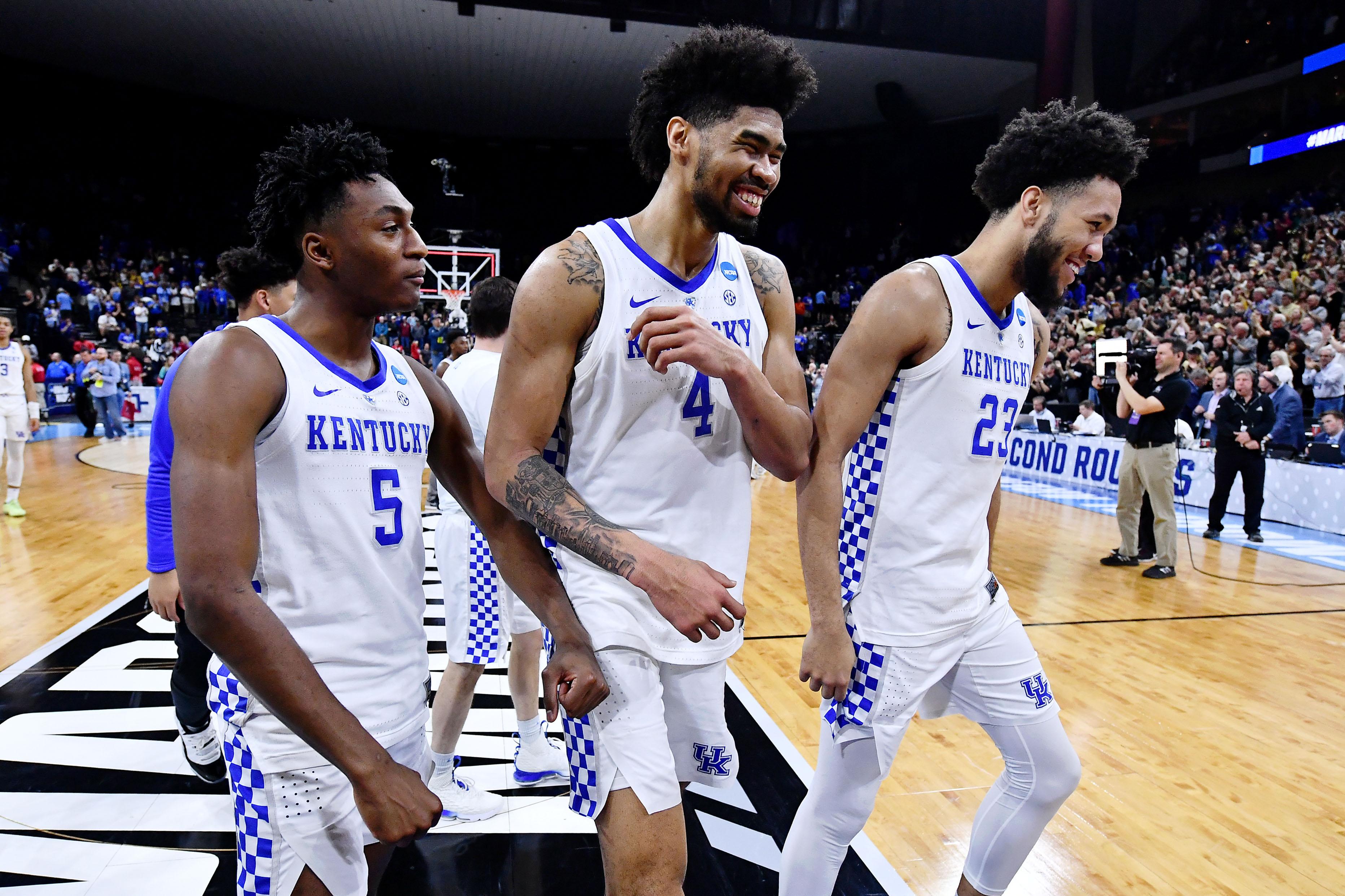 NCAA Basketball: NCAA Tournament-Second Round-Wofford vs Kentucky