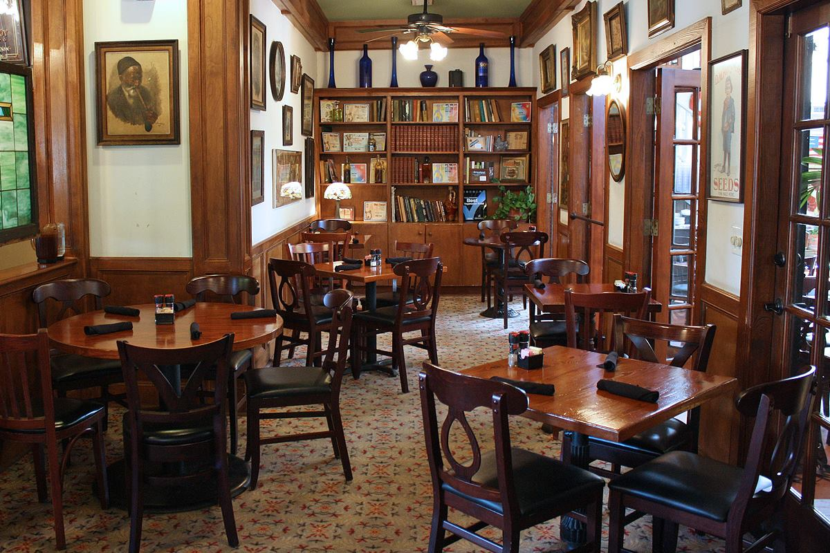 the dining room at baba yega