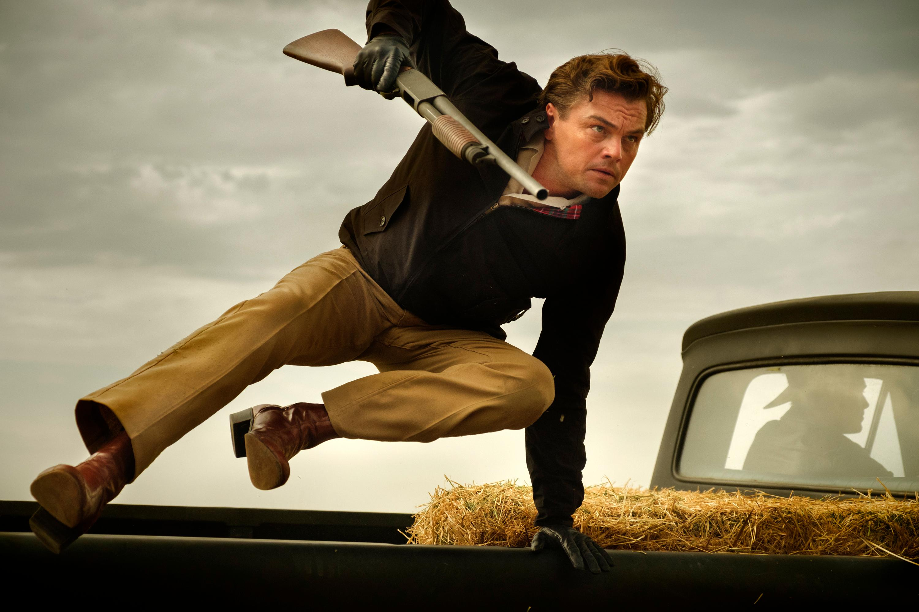 In his appearance on the show F.B.I., Cliff, wielding a rifle, jumps out of the back of a truck.