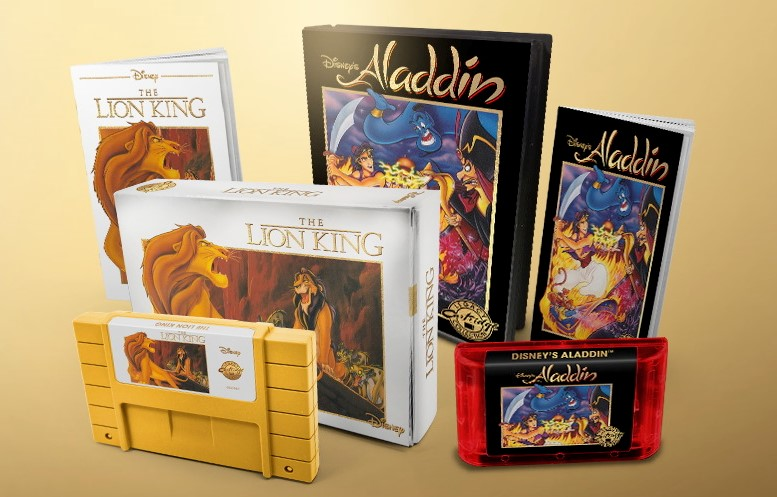 Retro Aladdin, Lion King games coming back in $100 cartridges