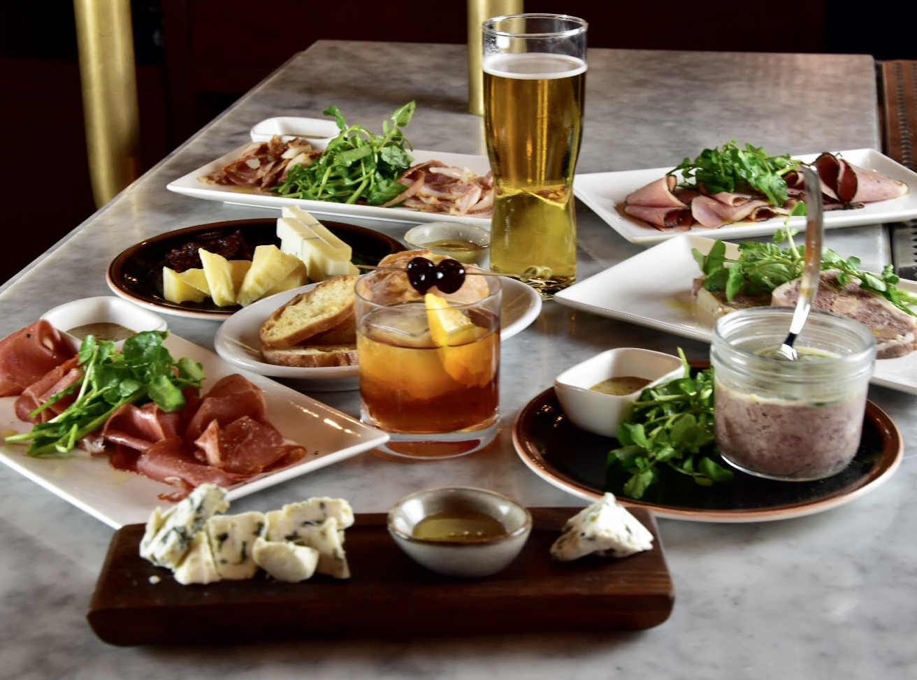 Rare Steakhouse's New Charcuterie Bar Proclaims the Majesty of Wisconsin Cheese