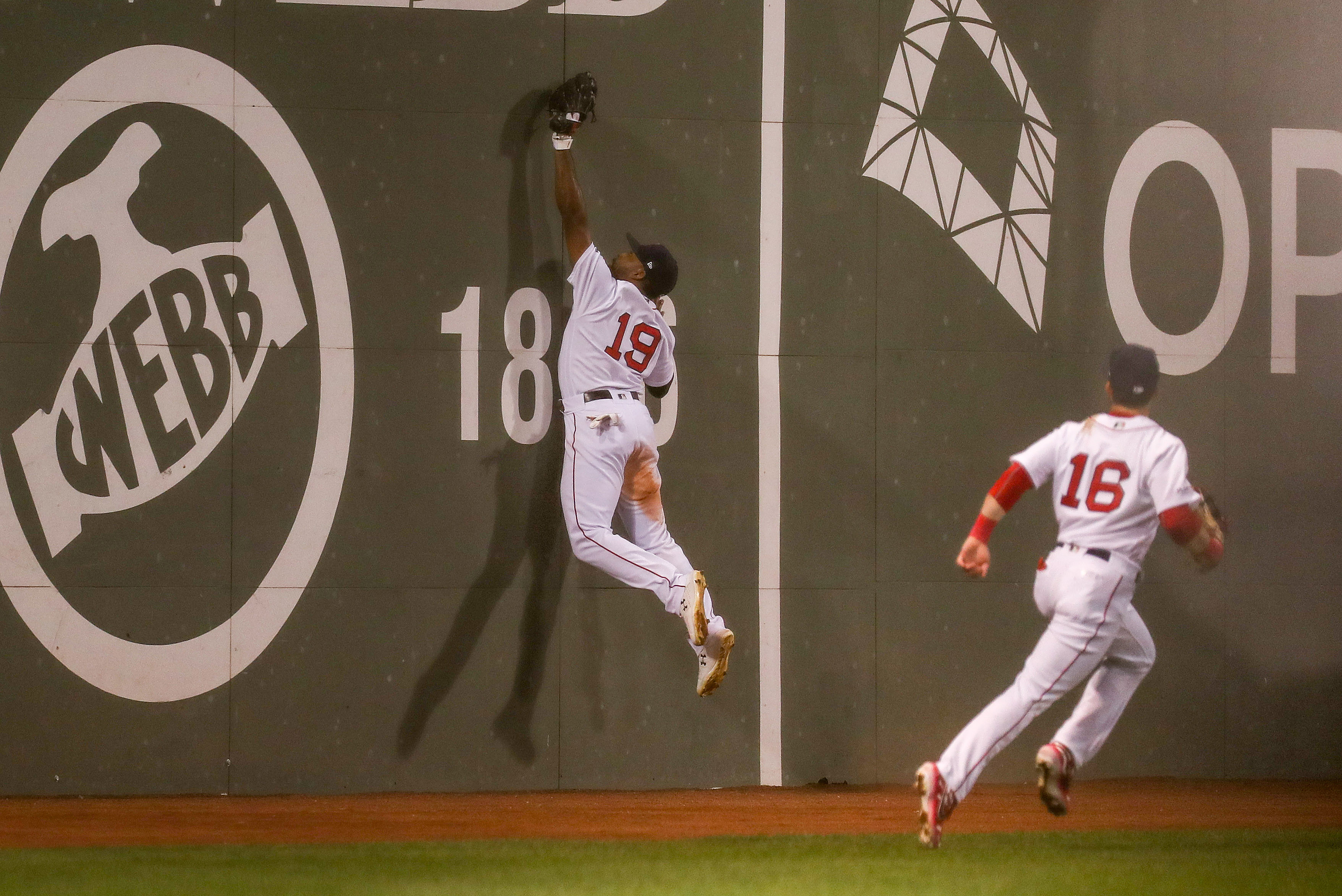 MLB: San Francisco Giants at Boston Red Sox