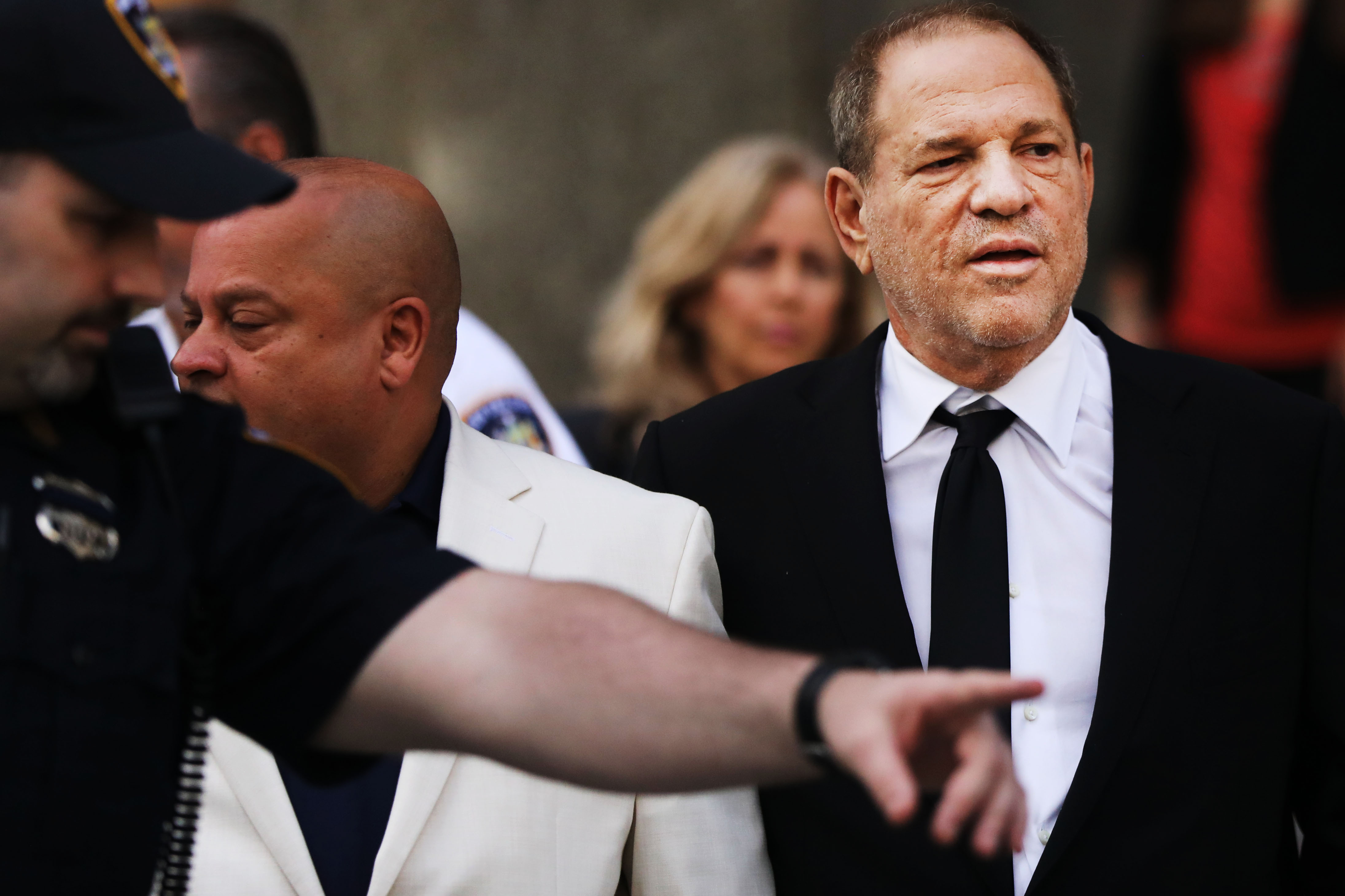 An actor confronted Harvey Weinstein at a comedy show. Guess who got thrown out?