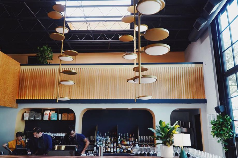The bar at Penny Quarter