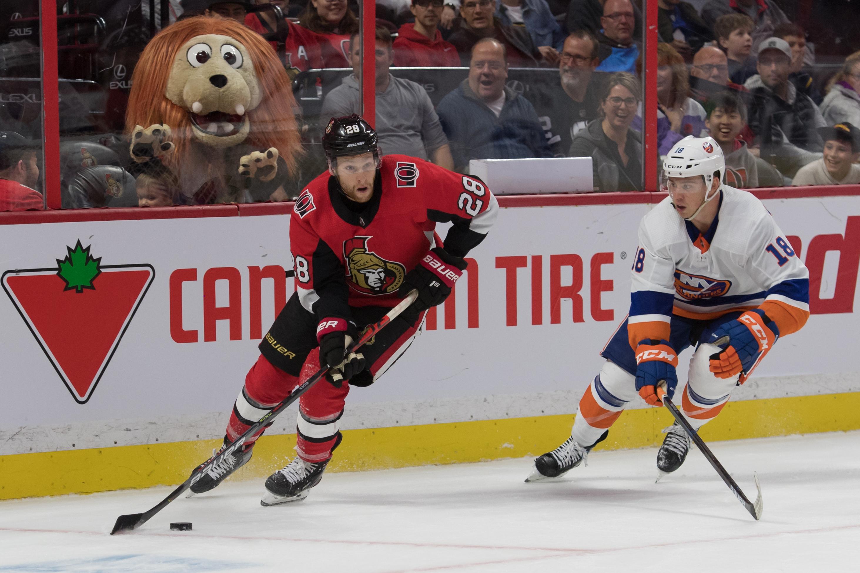 NHL: New York Islanders at Ottawa Senators