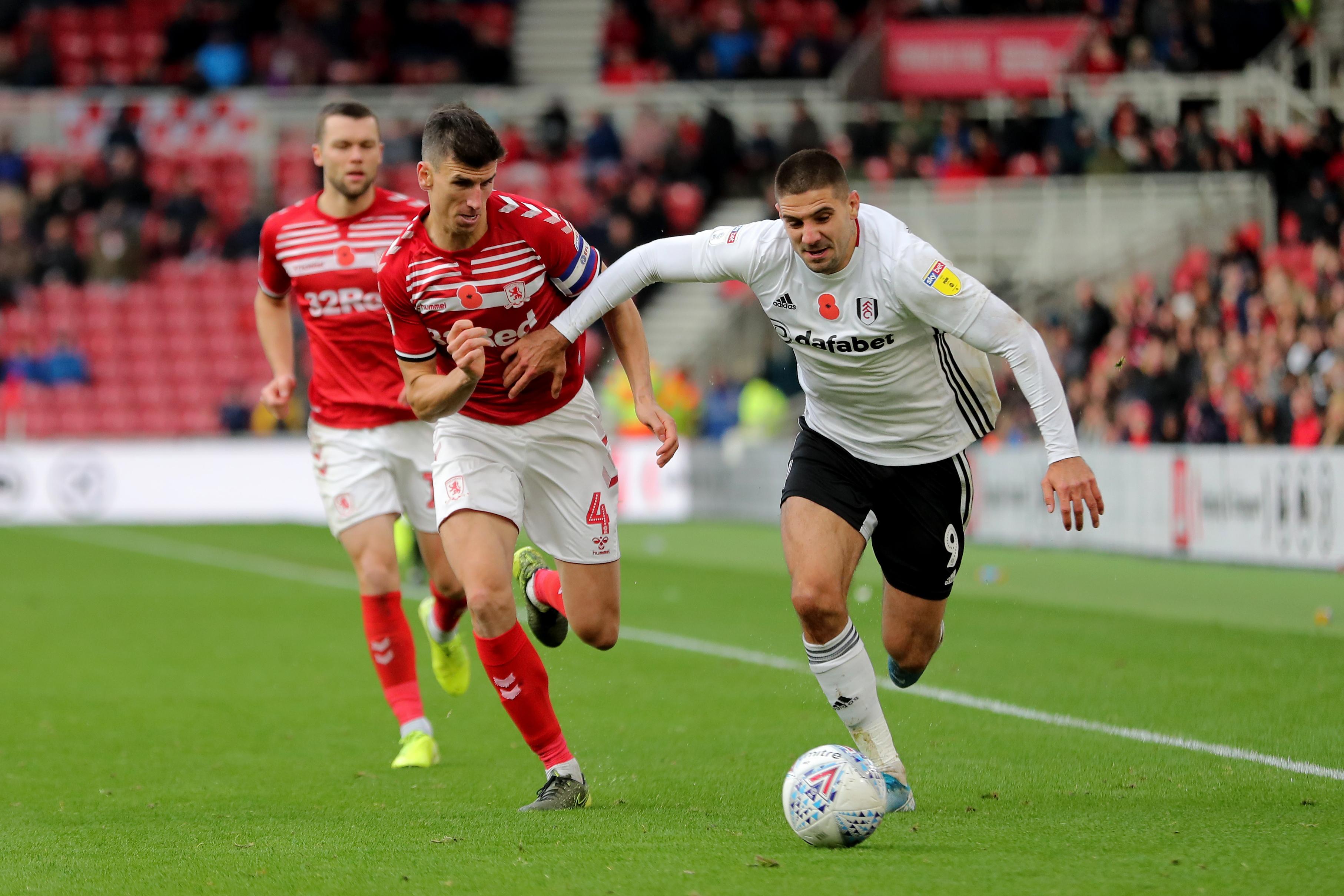 Middlesbrough v Fulham - Sky Bet Championship - Riverside Stadium