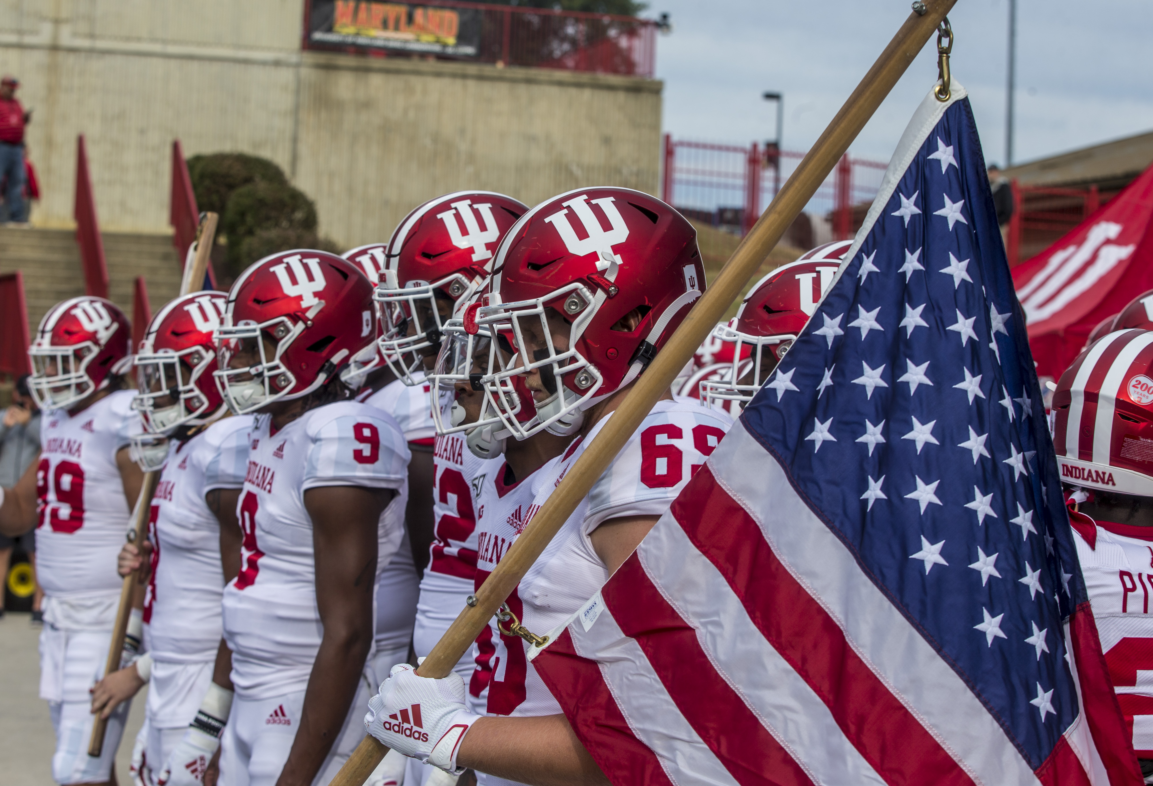 COLLEGE FOOTBALL: OCT 19 Indiana at Maryland