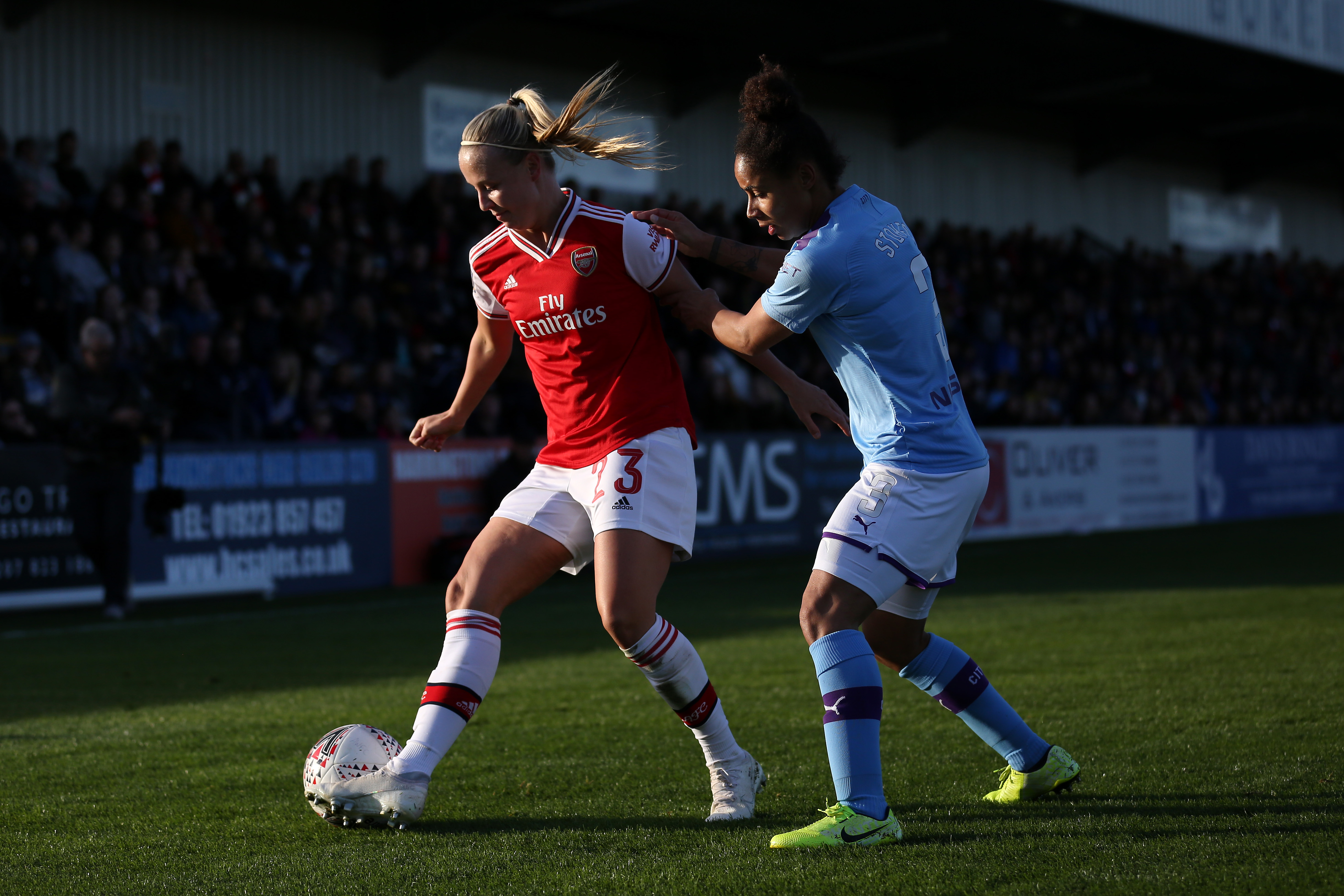 Arsenal v Manchester City - Barclays FA Women's Super League