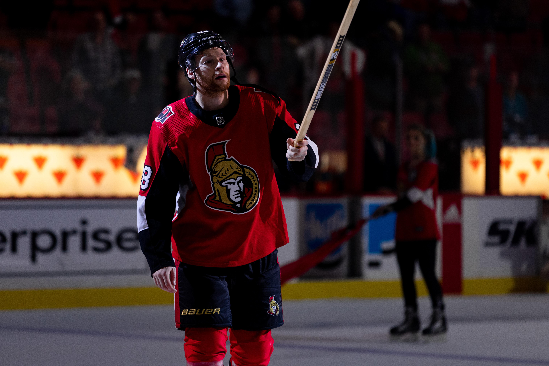 NHL: OCT 27 Sharks at Senators