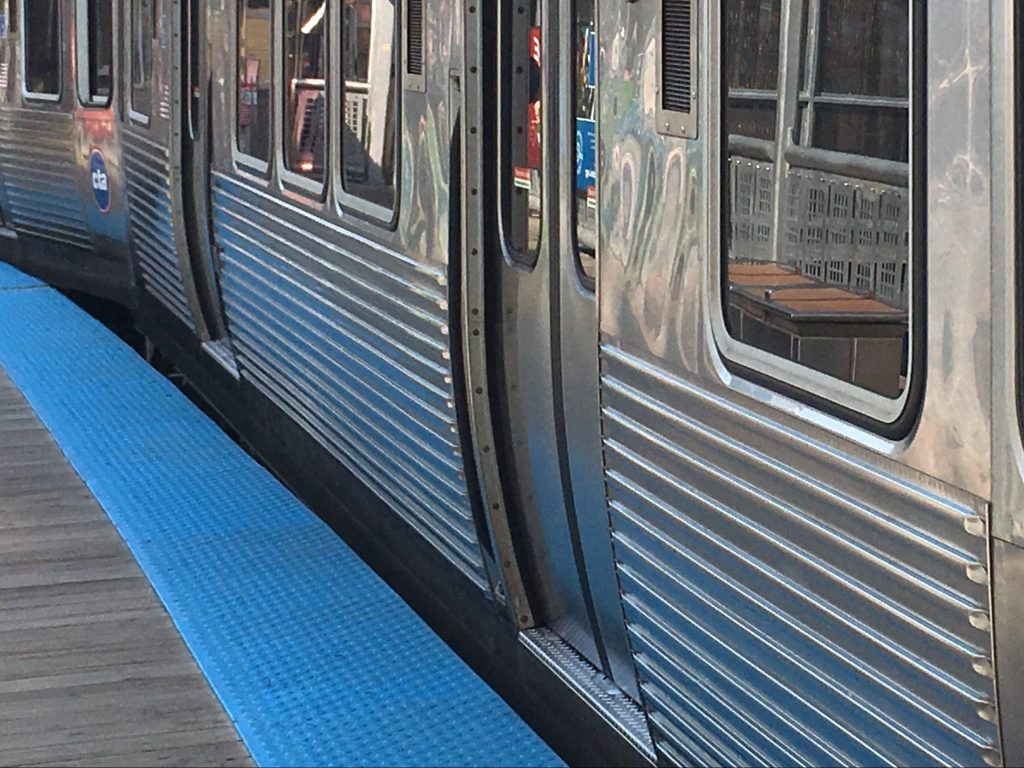CTA Red Line trains were rerouted to elevated tracks because of reports of smoke at the Grand station Oct. 28, 2019.