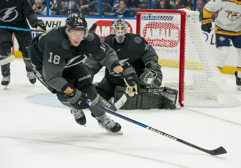NHL: OCT 26 Predators at Lightning