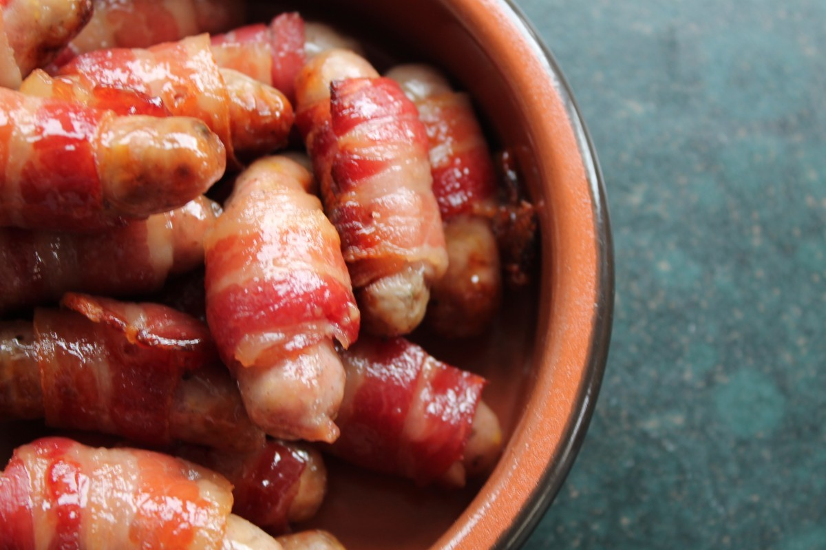 Pigs in blankets, which could be threatened by Brexit