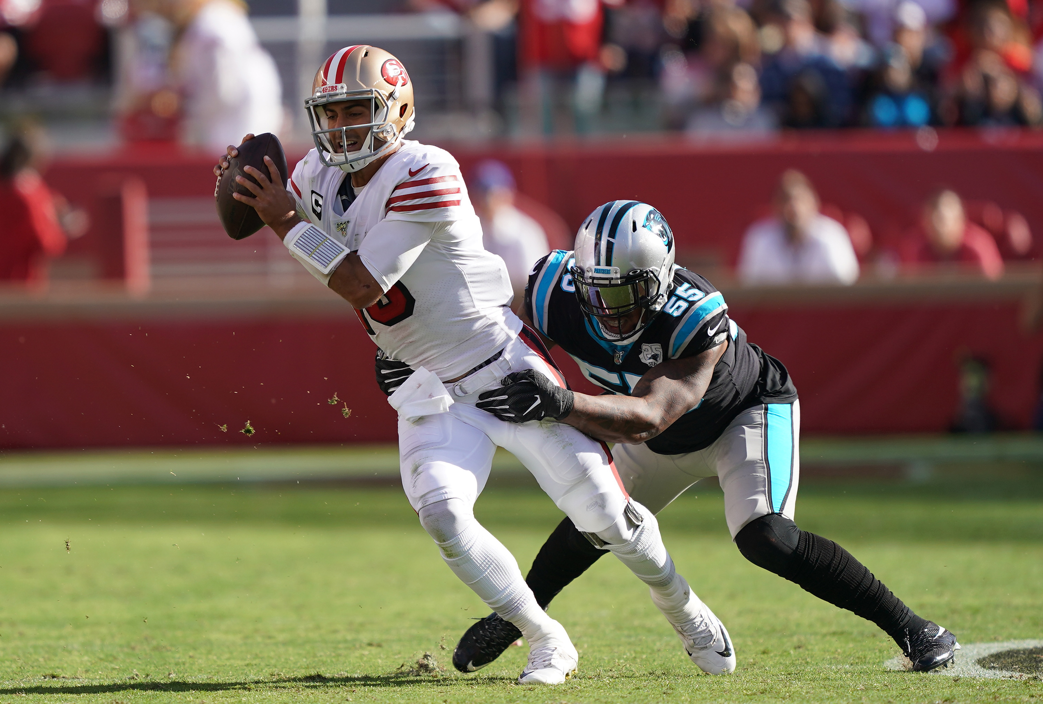 Carolina Panthers vSan Francisco 49ers