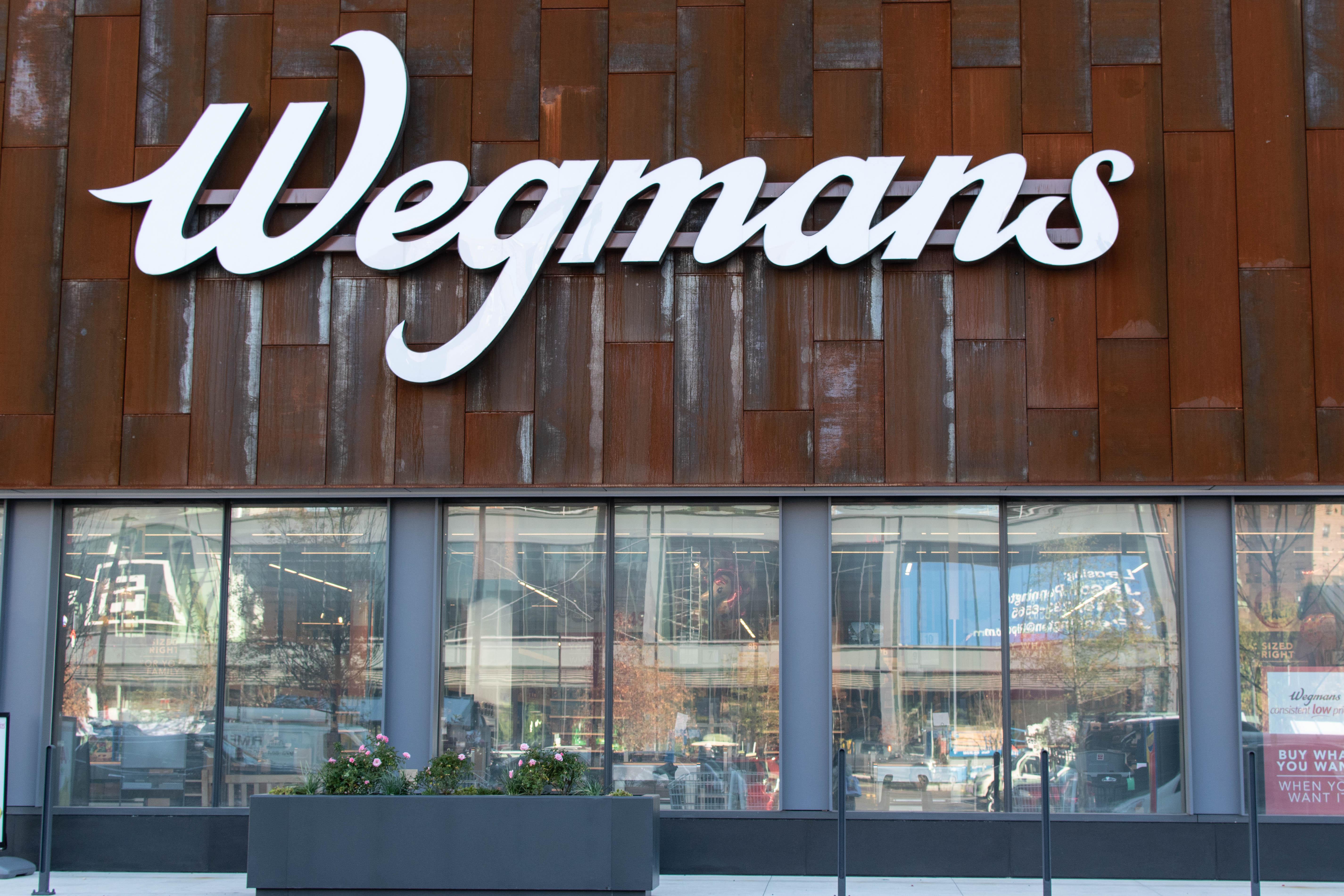 The exterior of Wegmans
