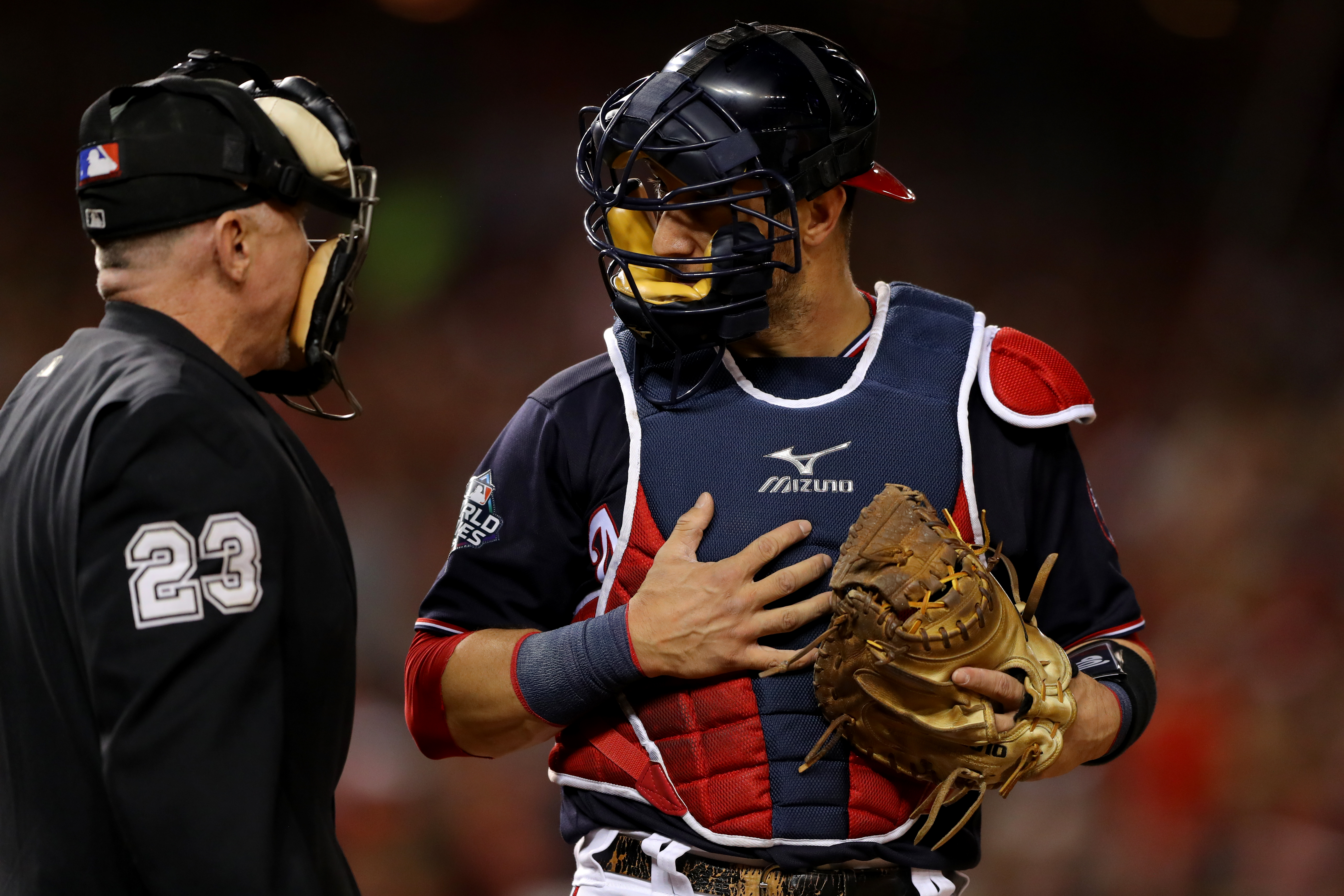 The Astros vs. Nationals World Series Game 5 left everyone mad at umpire Lance Barksdale.