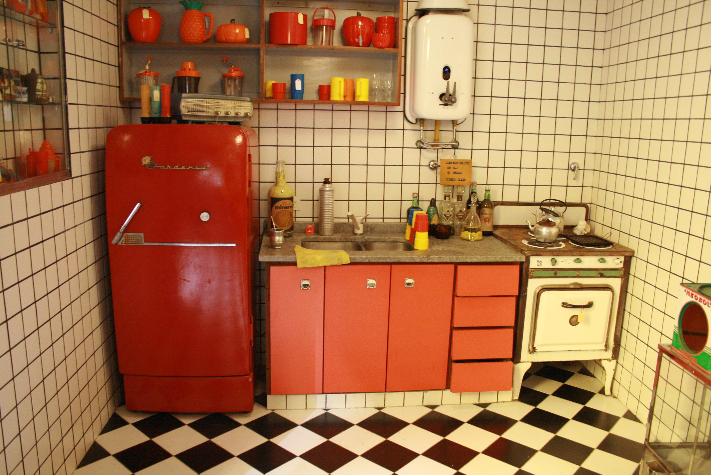 A 1960s-era kitchen