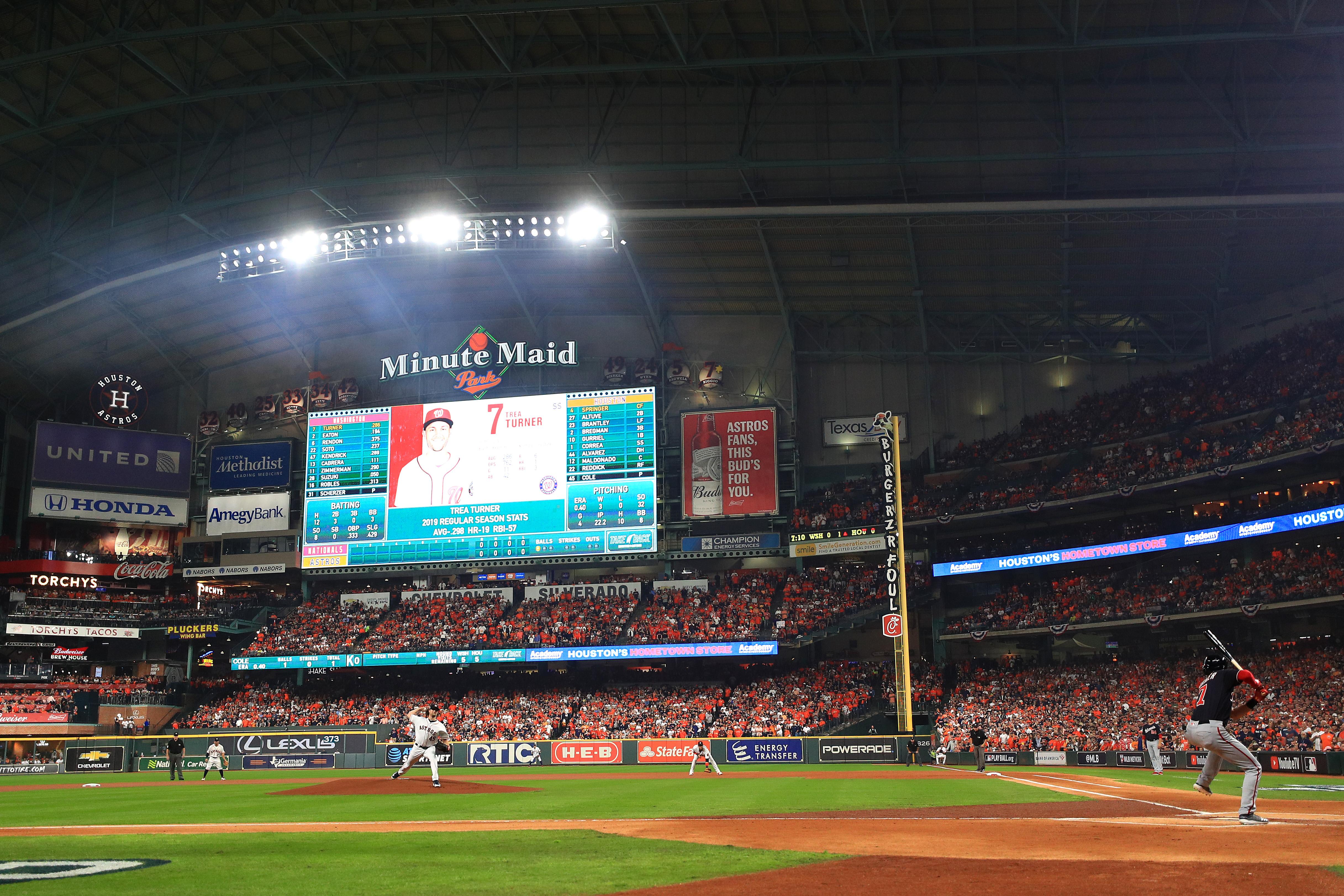 World Series - Washington Nationals v Houston Astros - Game One