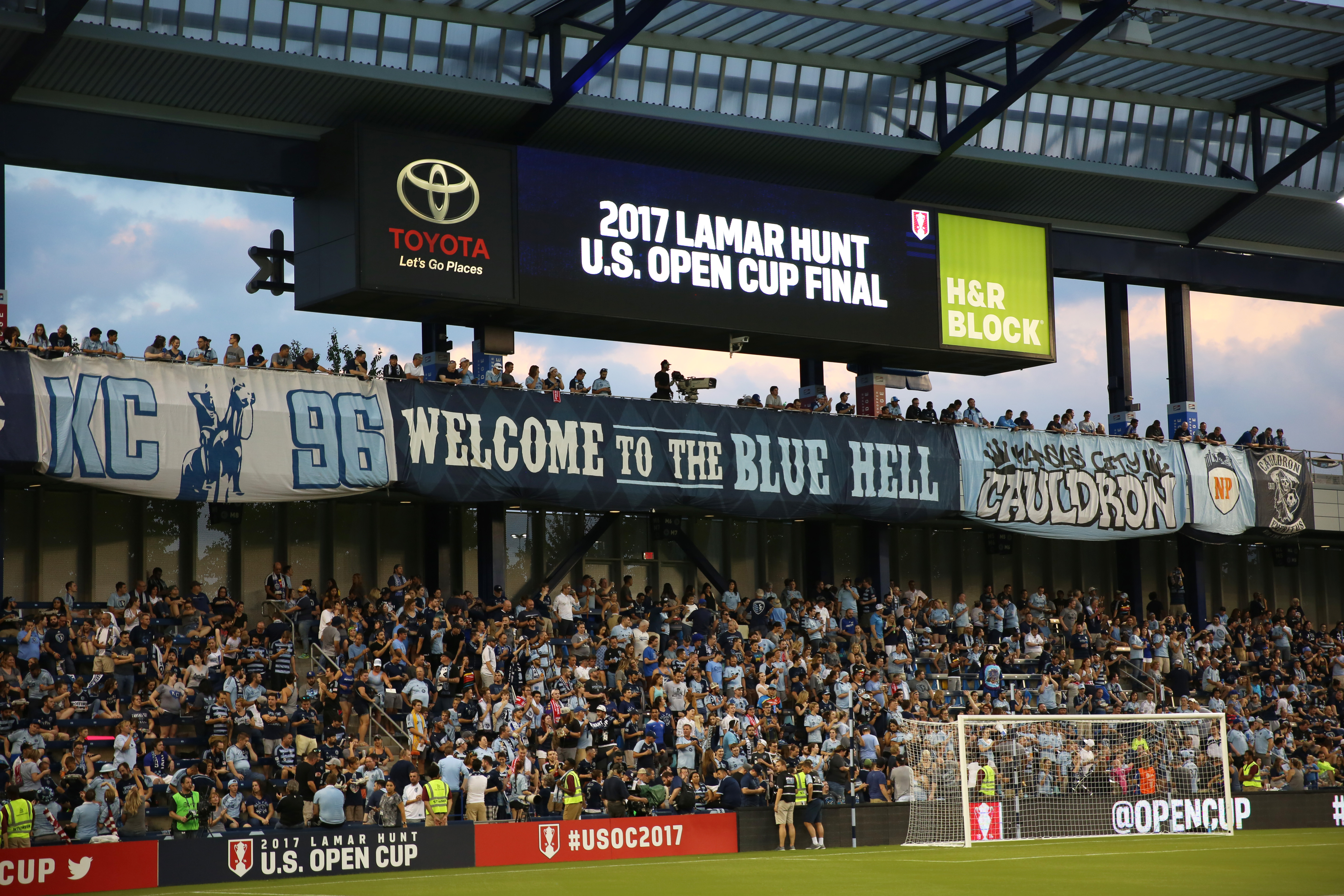 SOCCER: SEP 20 US Open Cup - New York Red Bulls at Sporting Kansas City