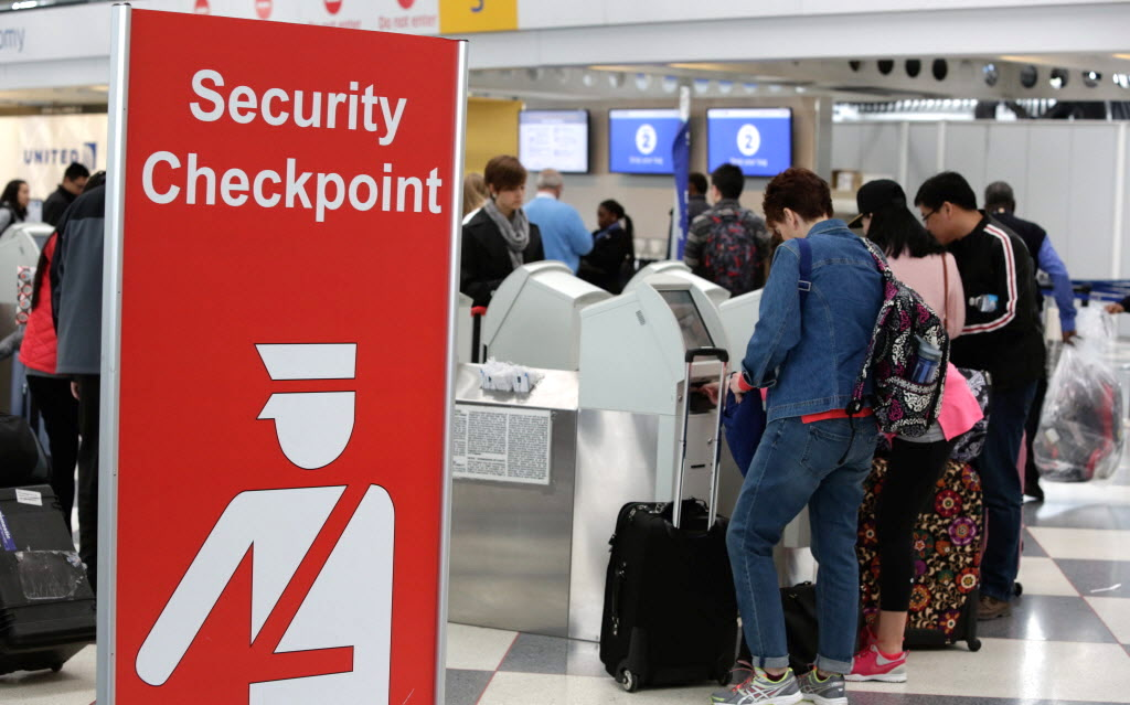 Police say a person with a loaded gun in their carry-on bag was arrested Oct. 29, 2019, at O'Hare International Airport.