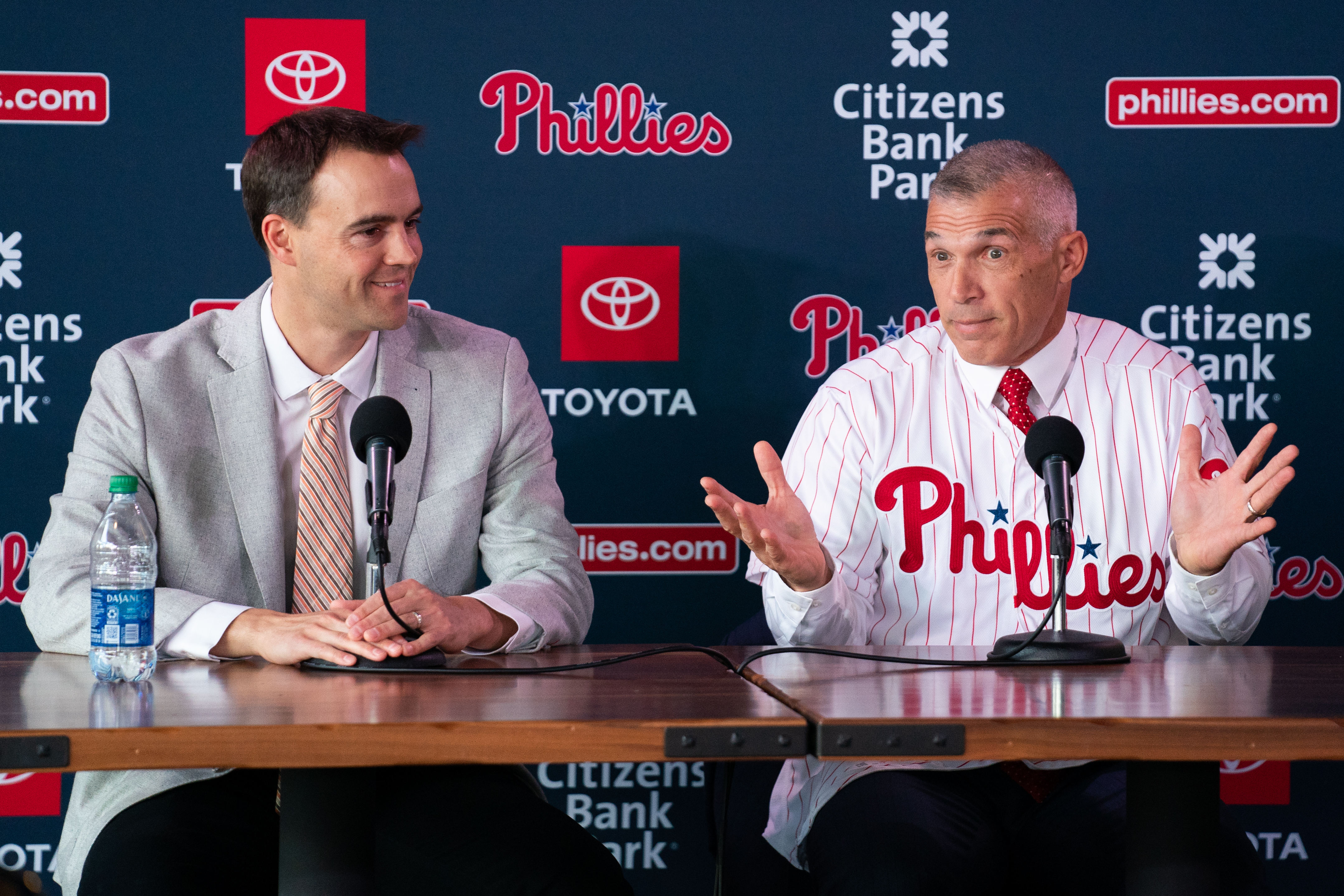 MLB: Philadelphia Phillies-Press Conference