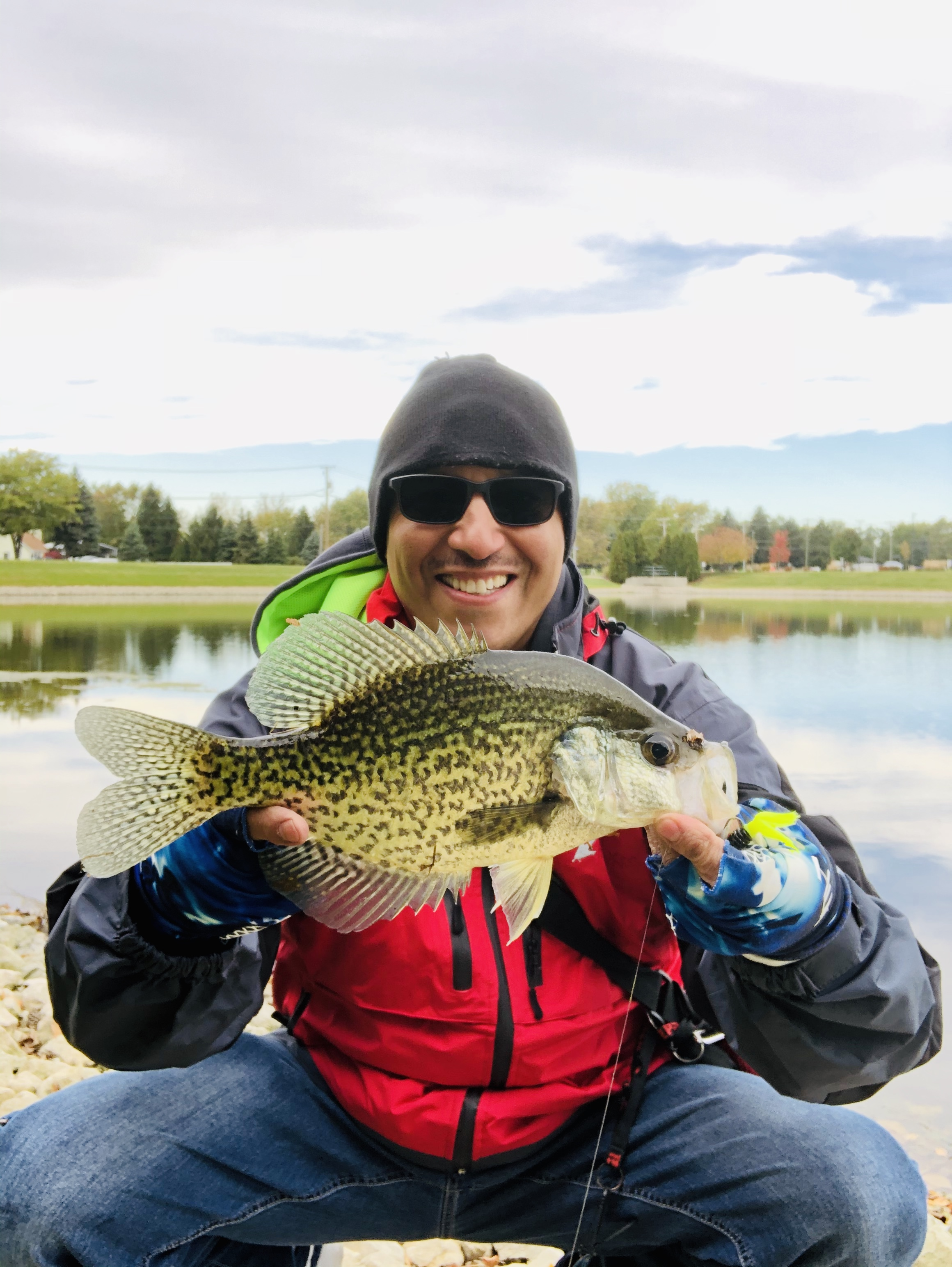 Rico Cantu sent the crappie above from the Lockport area.