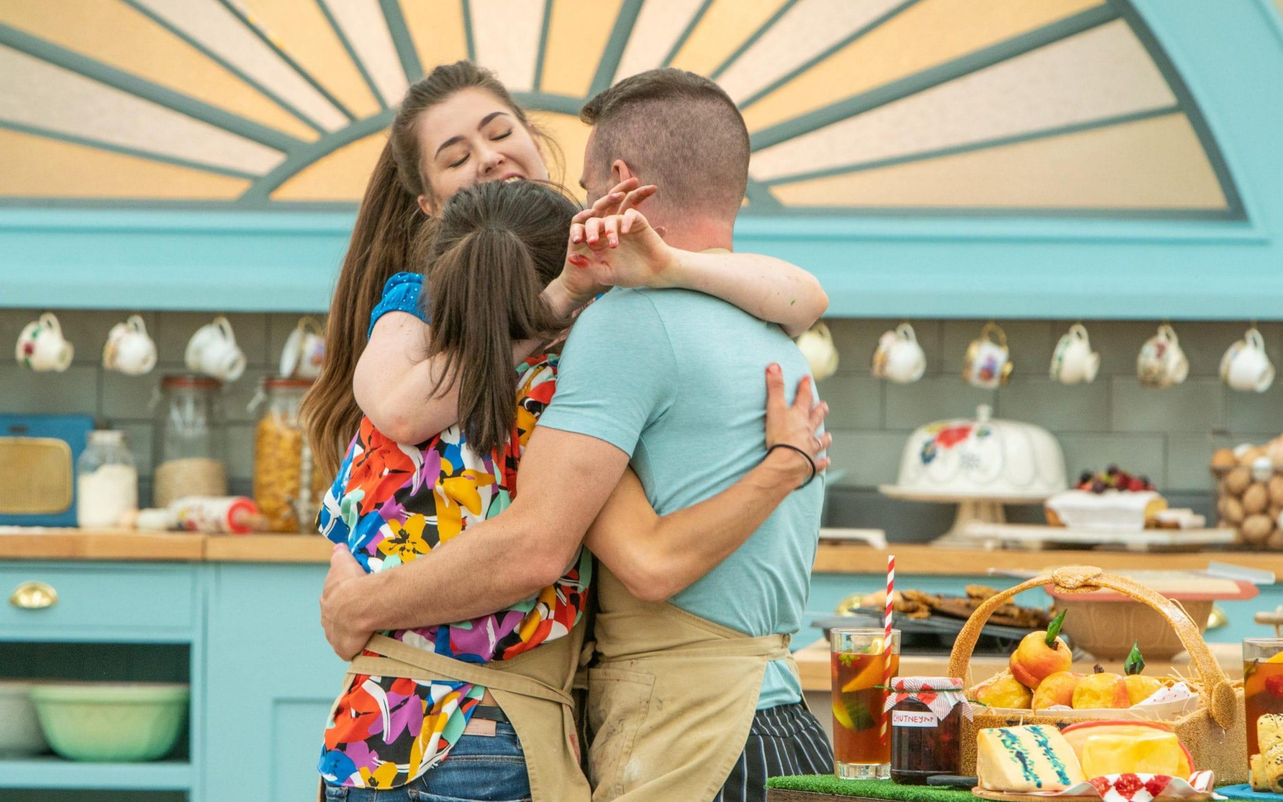 GBBO final hug