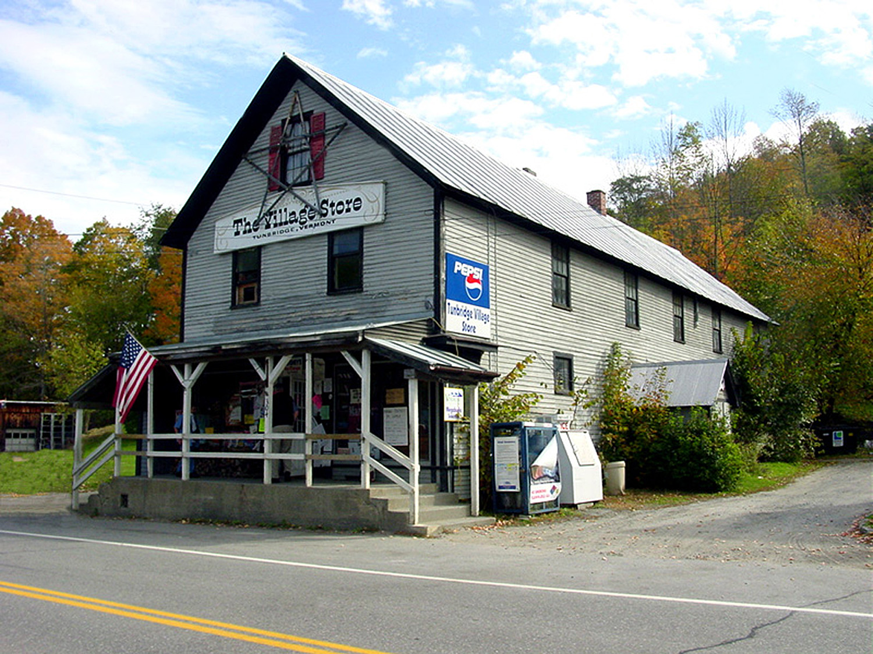 The Village Store in Tunbridge, Vermont, in 2001.